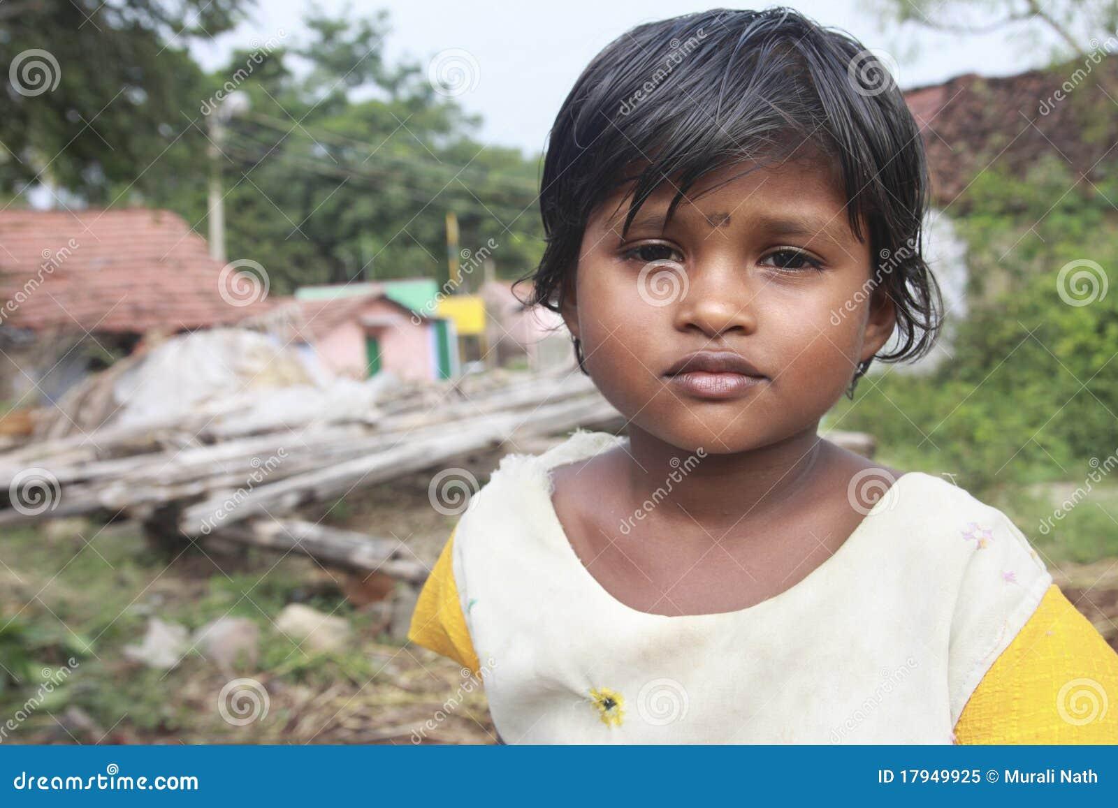 Indian Village Girl Stock Image Image Of Innocently - 17949925-1988