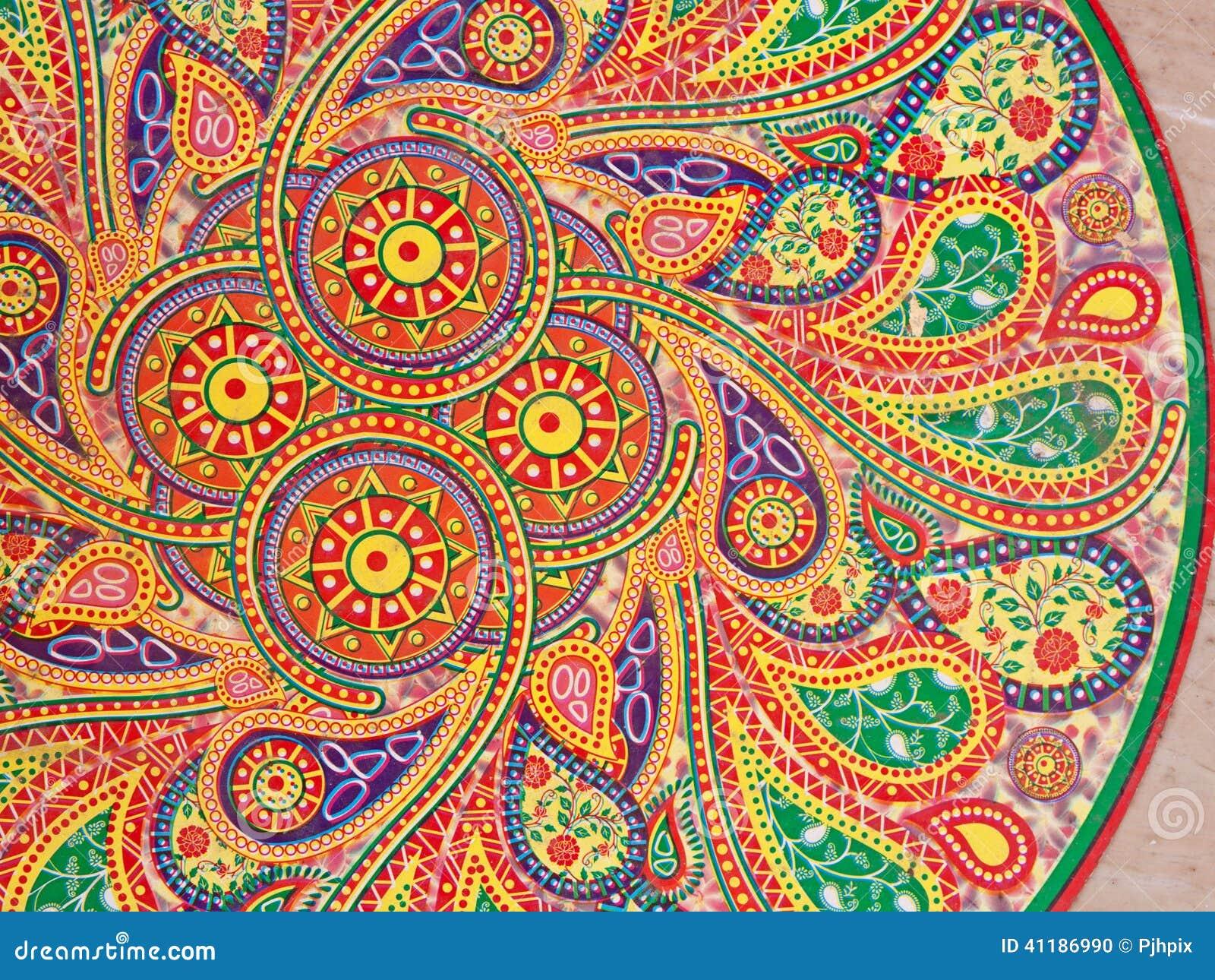 Batik Design Indian Wall Pattern St...