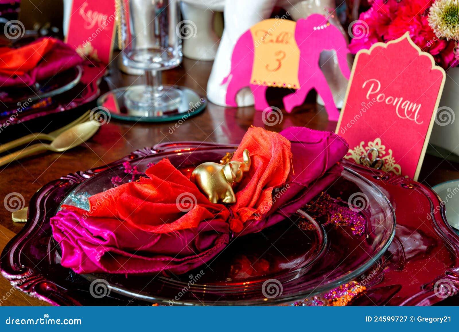 Indian Wedding Stock Image Image Of Food Dine Cutlery