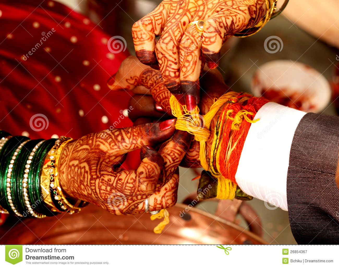 Indian Wedding Royalty Free Stock Photography - Image: 26854367
