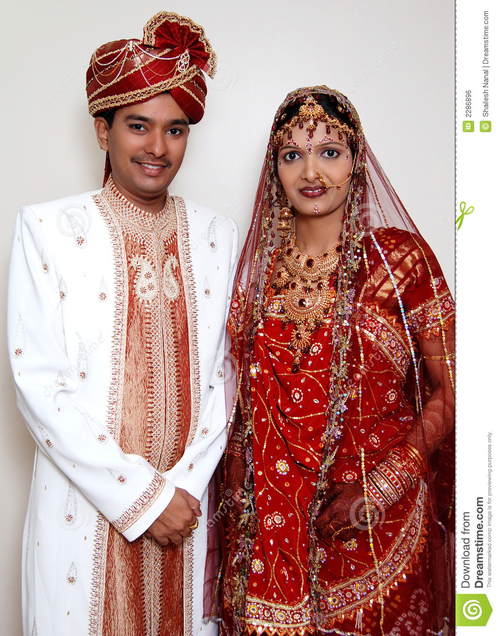 Indian Wedding Couple Stock Photo Image Of Groom Jacket