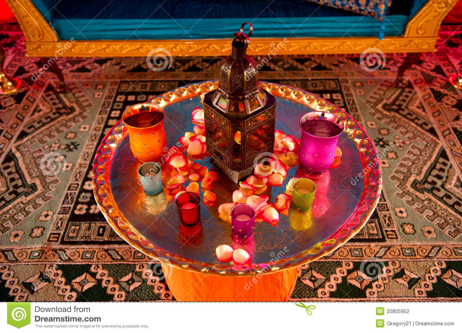 Indian Wedding Decor Stock Photo Image Of Glass Modern