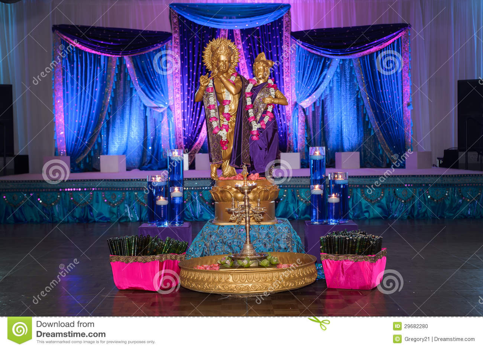 Indian Wedding Decor Stock Photo Image Of Culture Asian 29682280