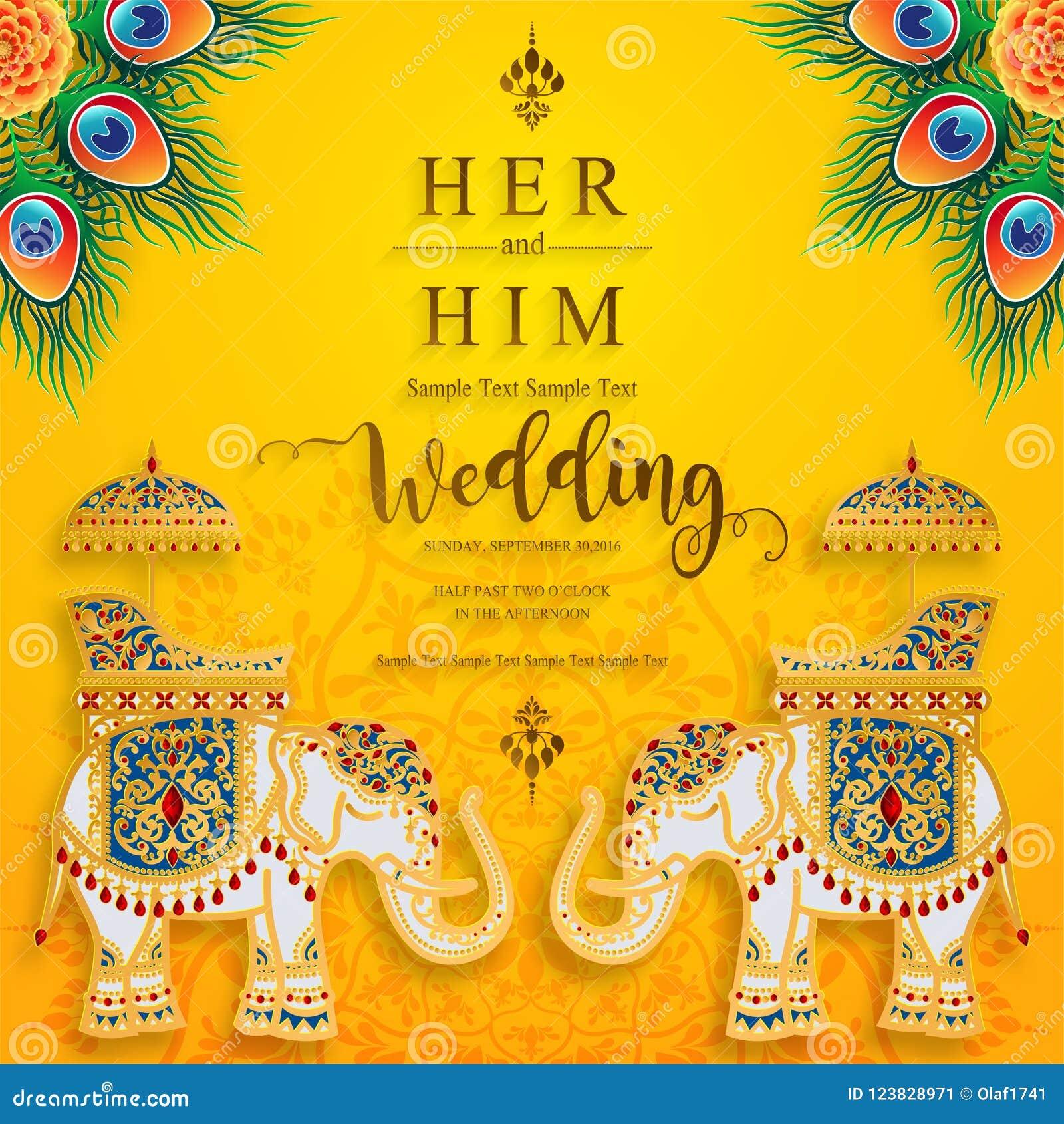 Inindian Wedding Invitation Carddian Wedding Invitation Card