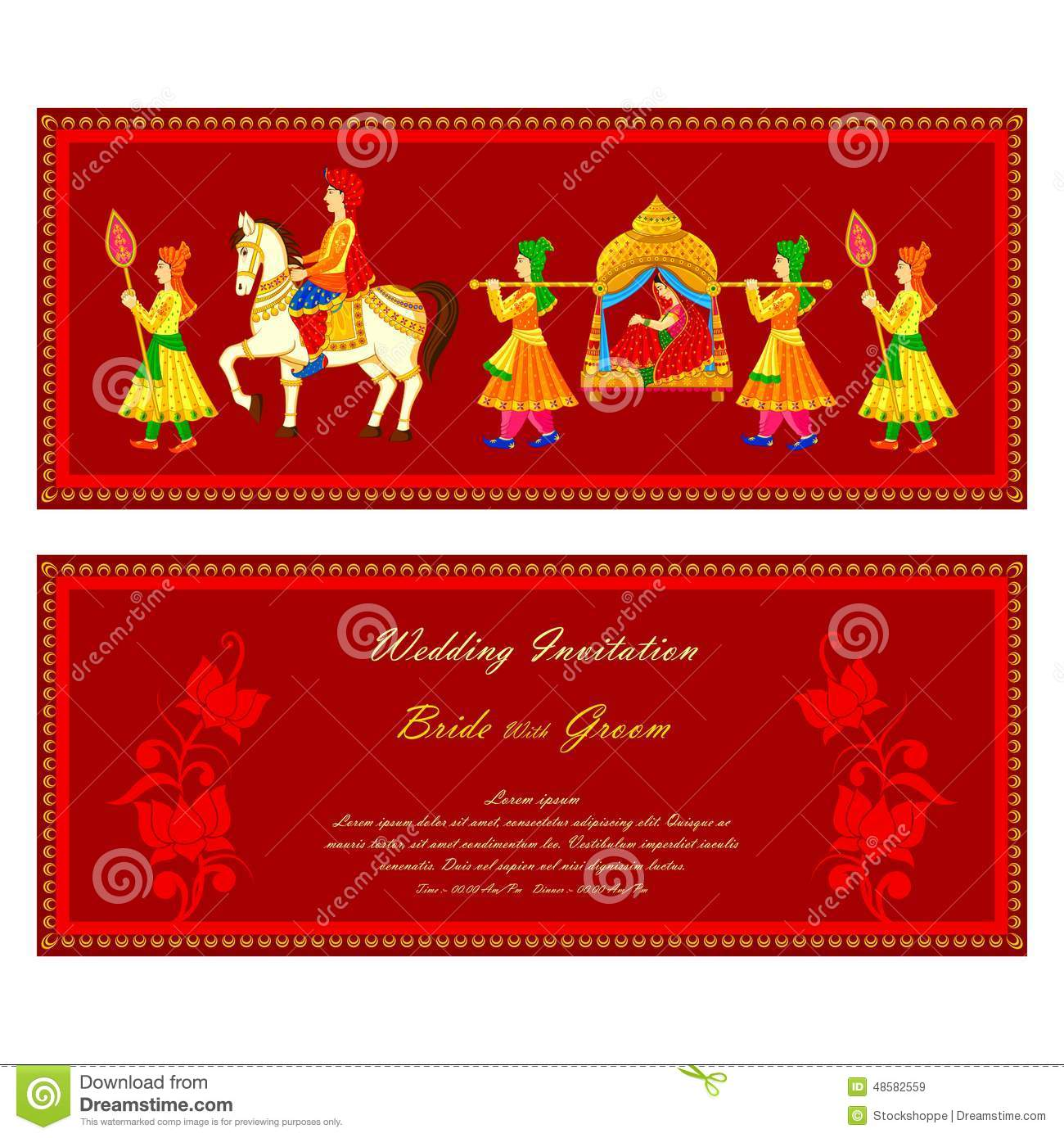Indian Wedding Stock Illustrations – 29,564 Indian Wedding Stock ...