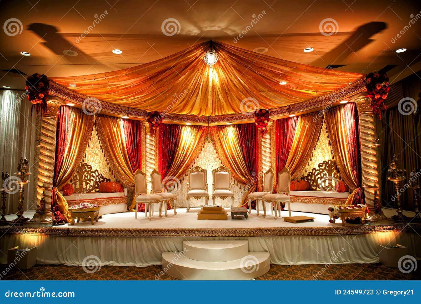 Indian Wedding Mandap Stock Photos Image 24599723