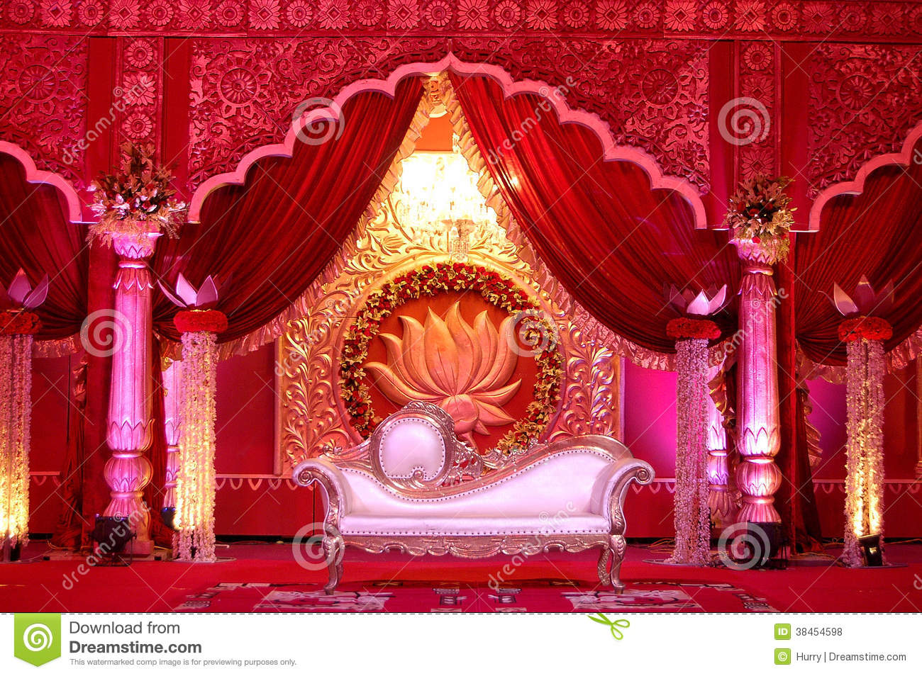 Indian wedding stage mandap stock photo image of lights hinduism indian wedding stage mandap lights hinduism junglespirit Gallery