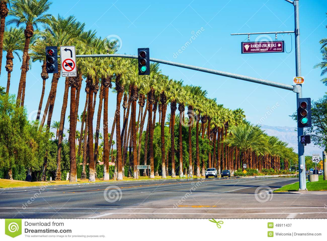 Indian Wells California Highway 111. City of Indian Wells, California ...