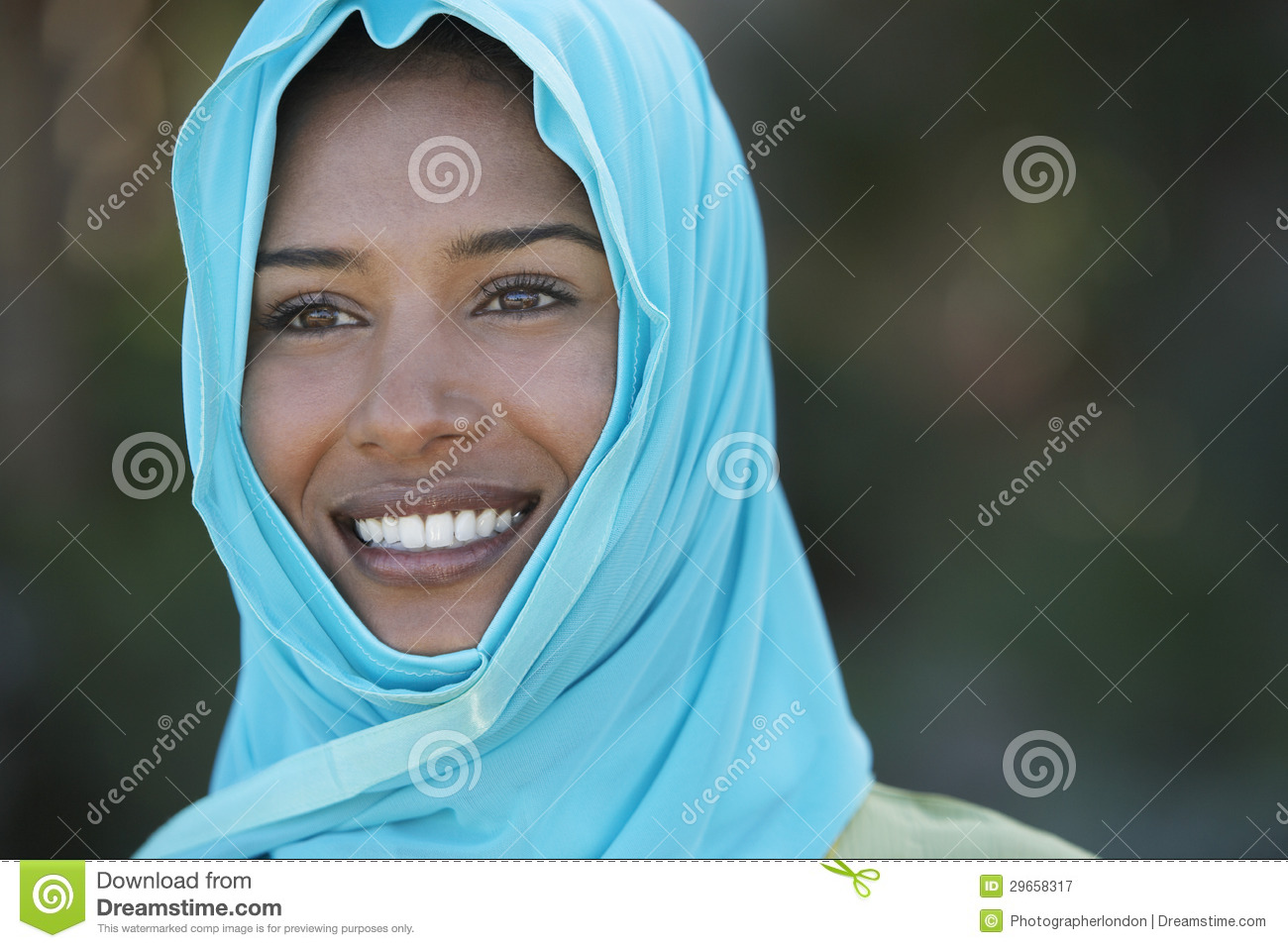 Image result for girl with blue headscarf indian
