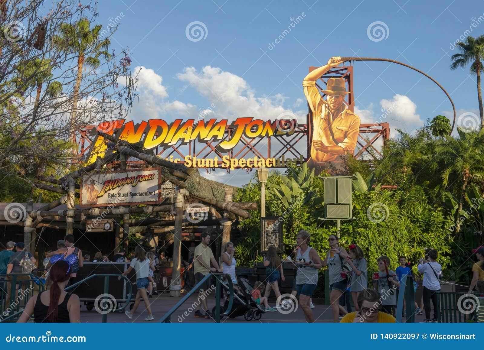 Indiana Jones, Disney World, podróż, Hollywood studia