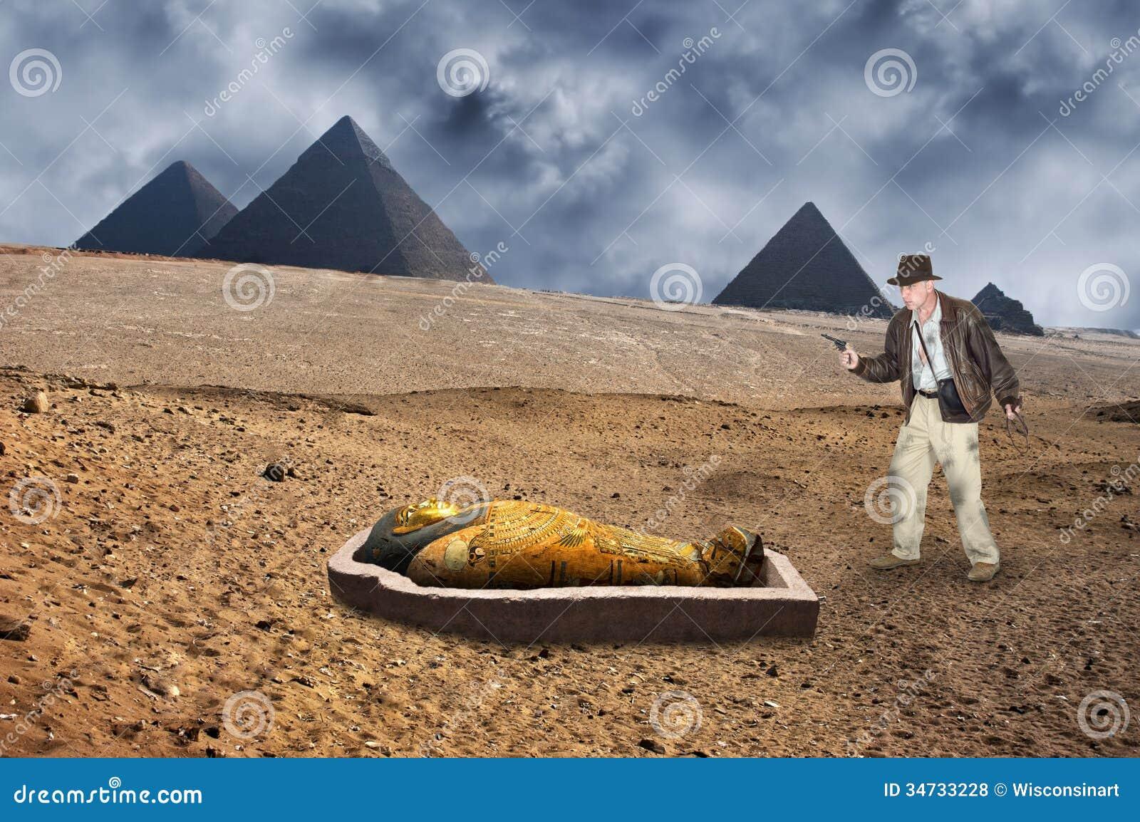 Indiana Jones stylu akci przygoda i bohater