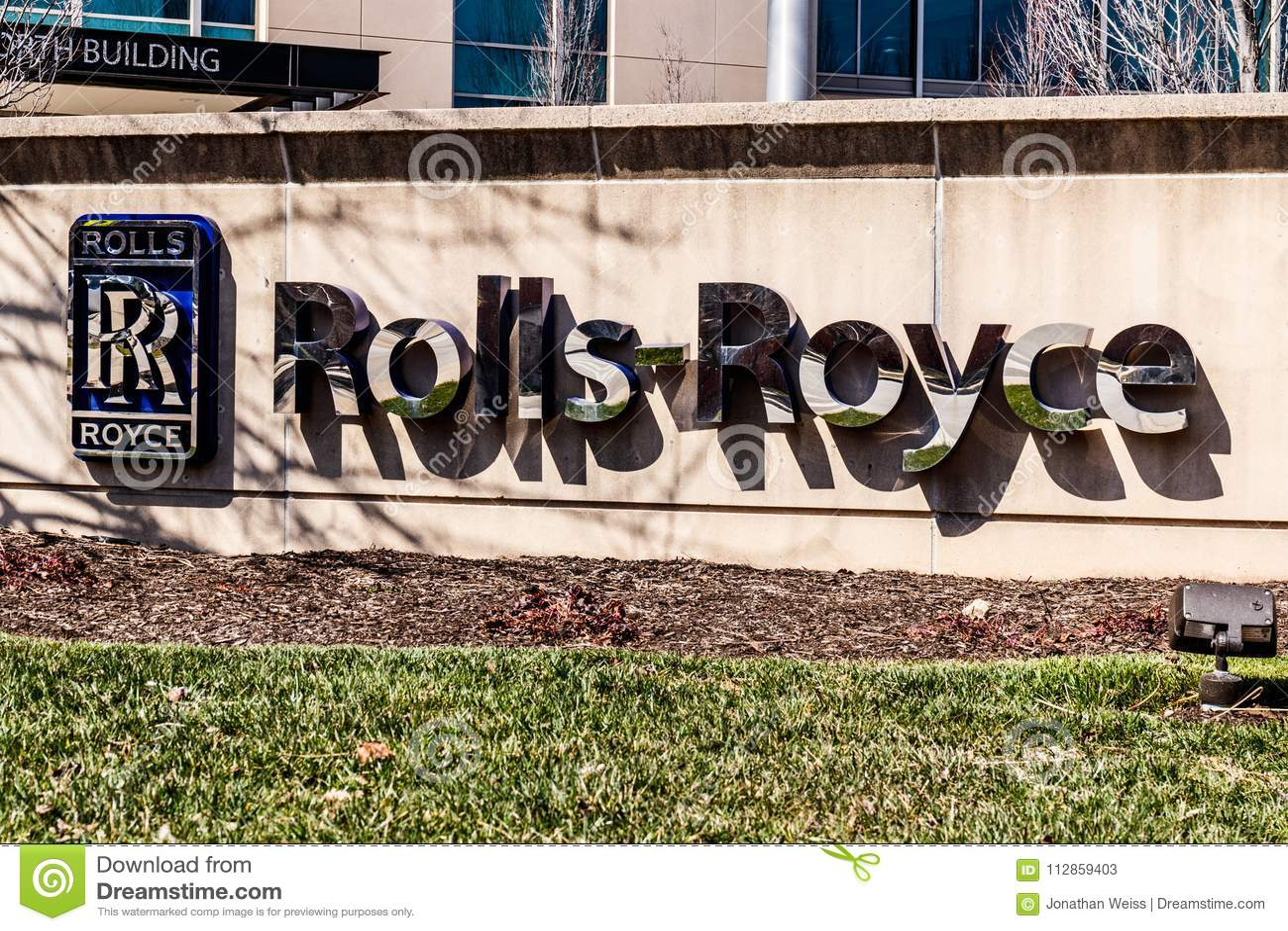 Indianapolis - cerca do março de 2018: O espaço aéreo Jet Turbine Plant de Rolls royce Mais produtos de Rolls royce são construíd