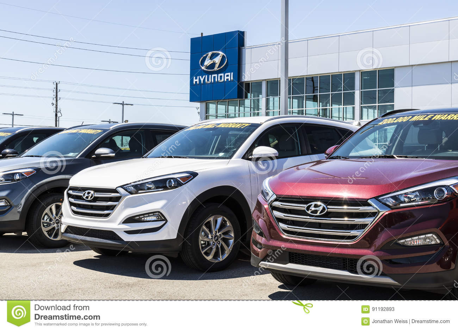 Hyundai Dealership Indianapolis >> Indianapolis Circa April 2017 Hyundai Motor Company Dealership
