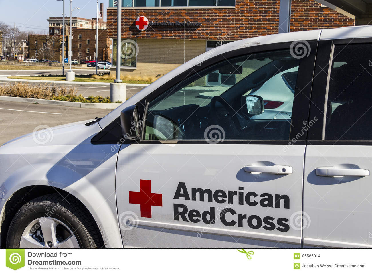 Indianapolis - Circa February 2017: American Red Cross