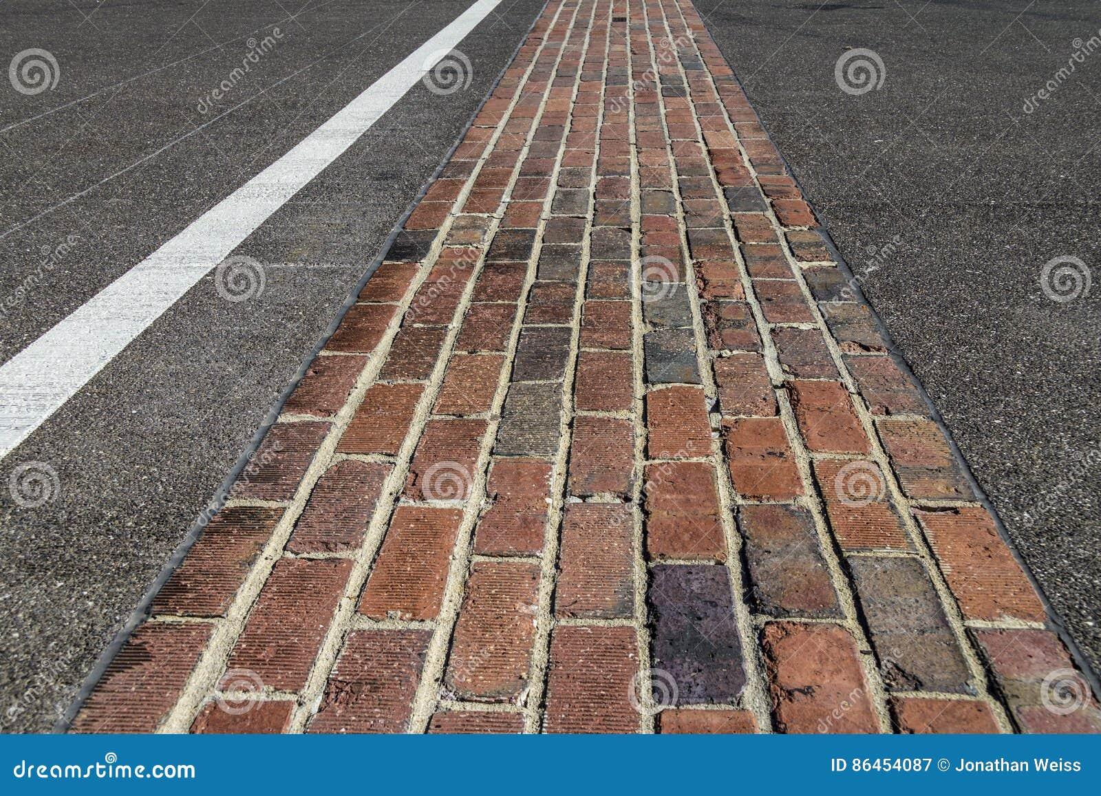 Indianapolis - Circa February 2017: The Yard of Bricks at Indianapolis Motor Speedway I
