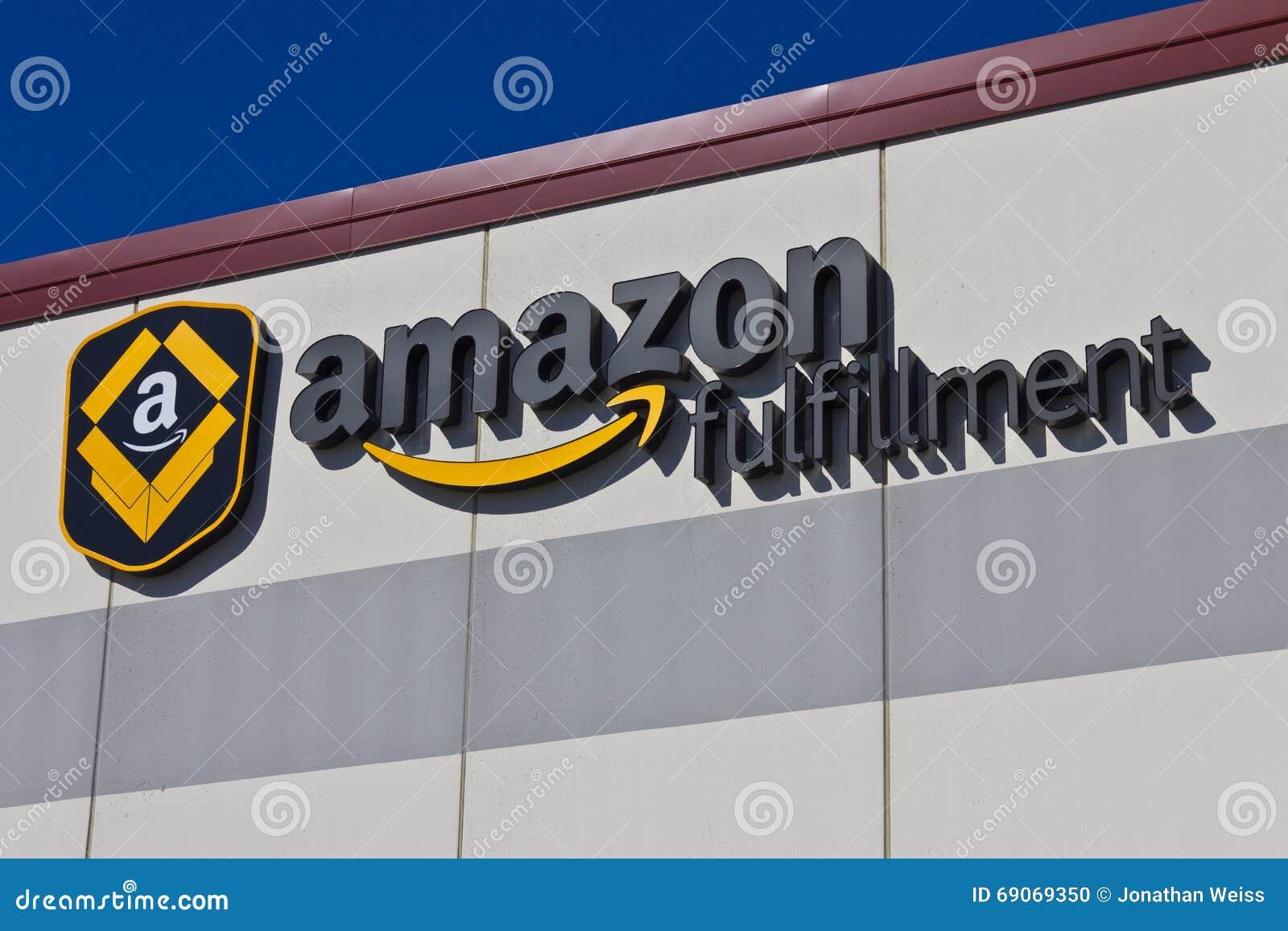 Indianapolis - circa marzo de 2016: Amazon centro del cumplimiento de COM