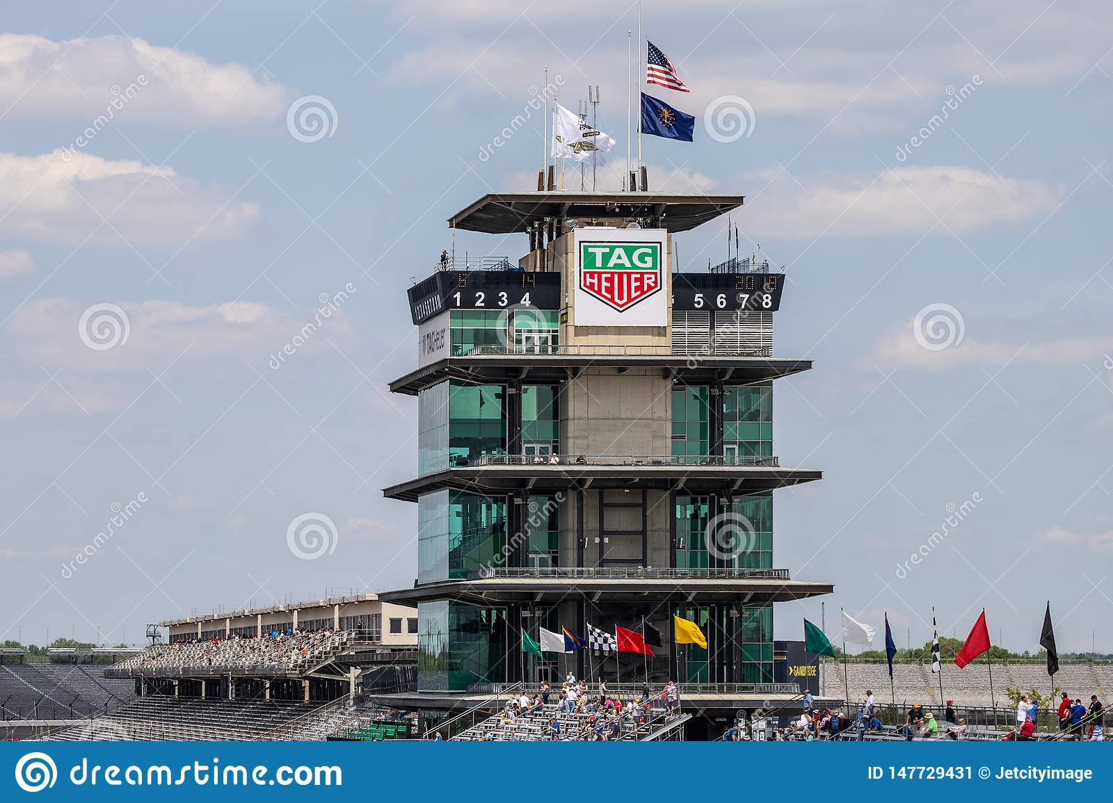 The Pagoda at Indianapolis Motor Speedway. IMS Prepares for the Indy 500 XIII