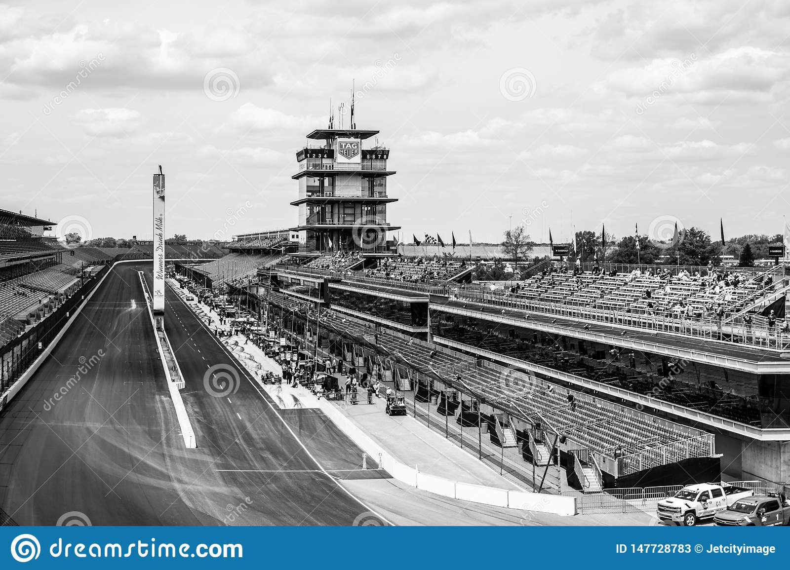 The Pagoda at Indianapolis Motor Speedway. IMS Prepares for the Indy 500 XVI