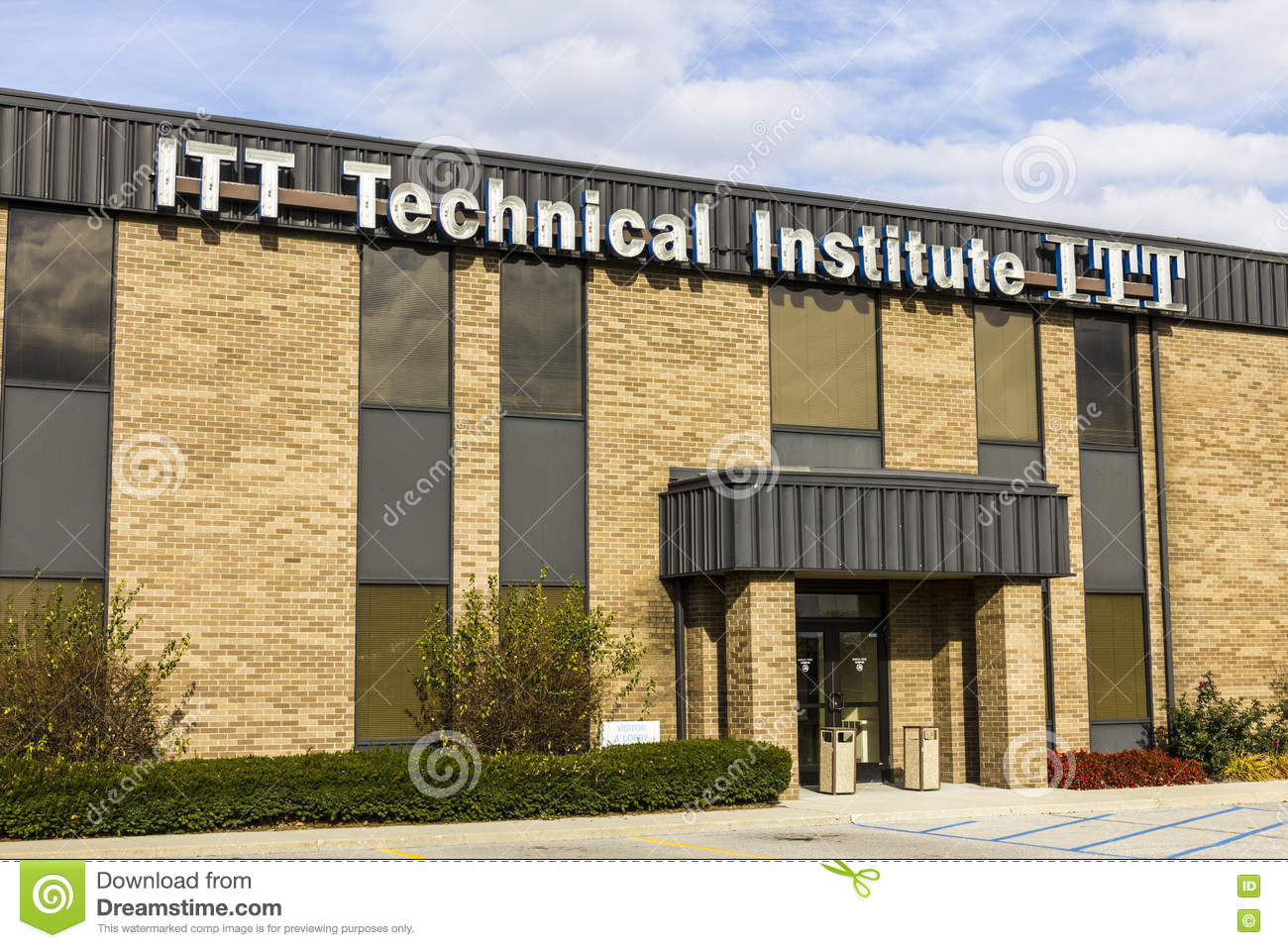 Indianapolis - Circa November 2016: ITT Educational Services Location. ITT Technical Institute has closed all its campuses IV