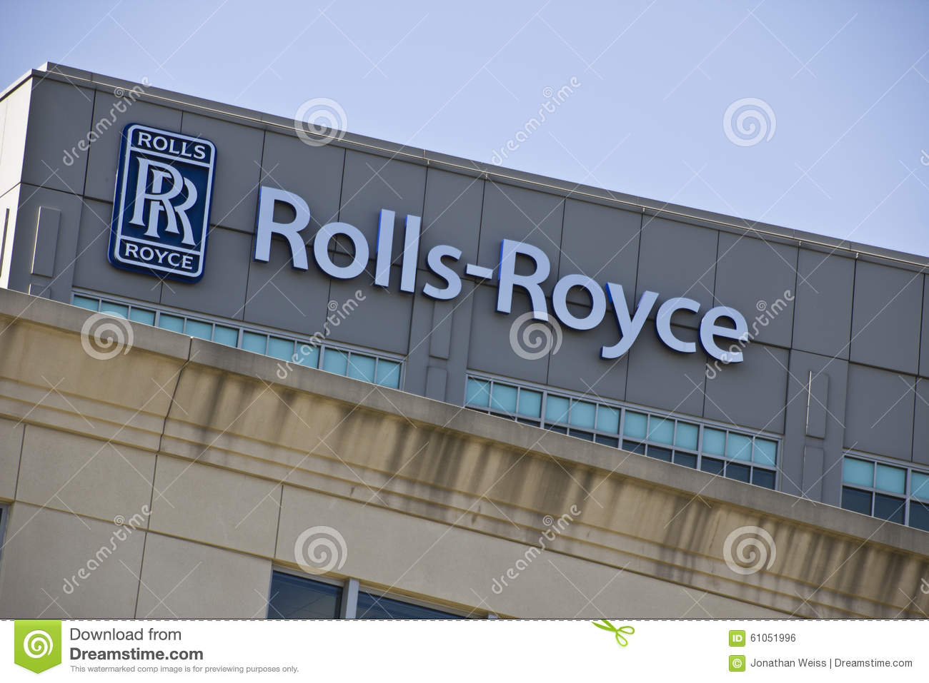 CIRCA OCTOBER 2015: Rolls-Royce Corporation
