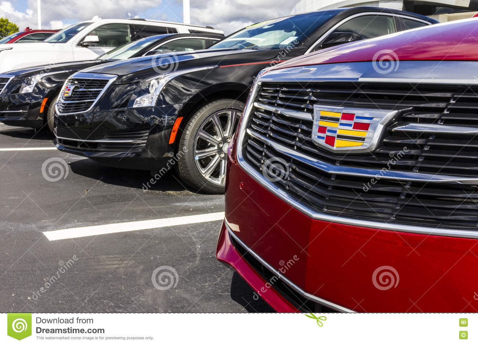 Indianapolis Circa September 2016 Cadillac Automobile Dealership
