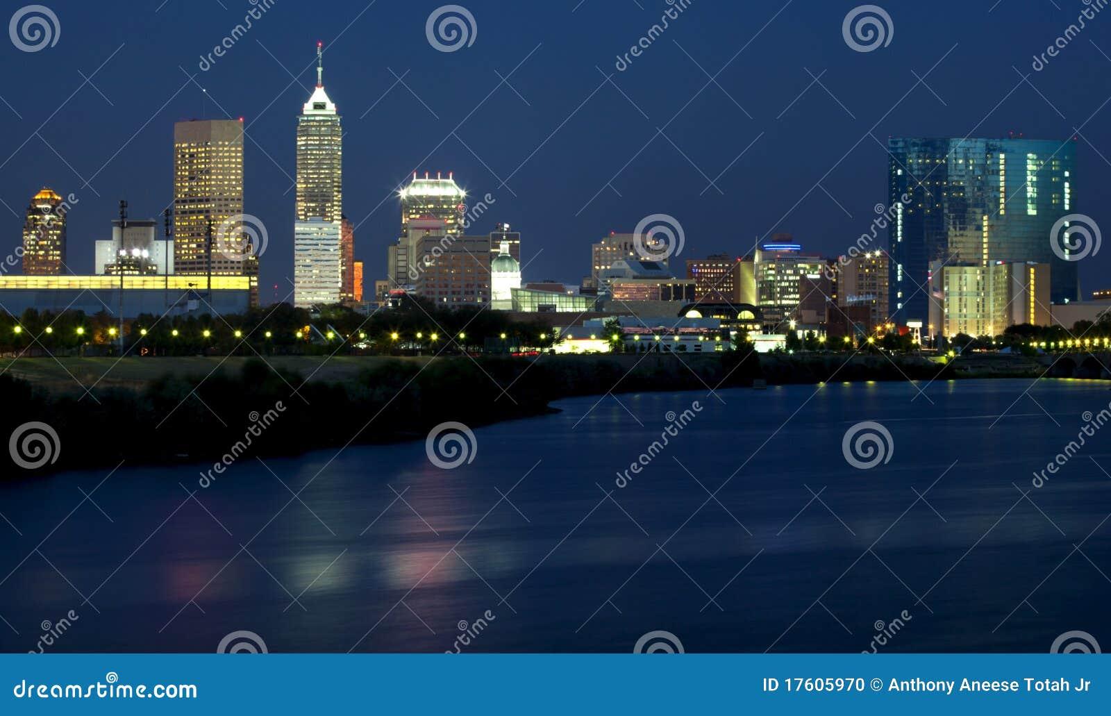 Indianapolis, Indiana (Nacht)