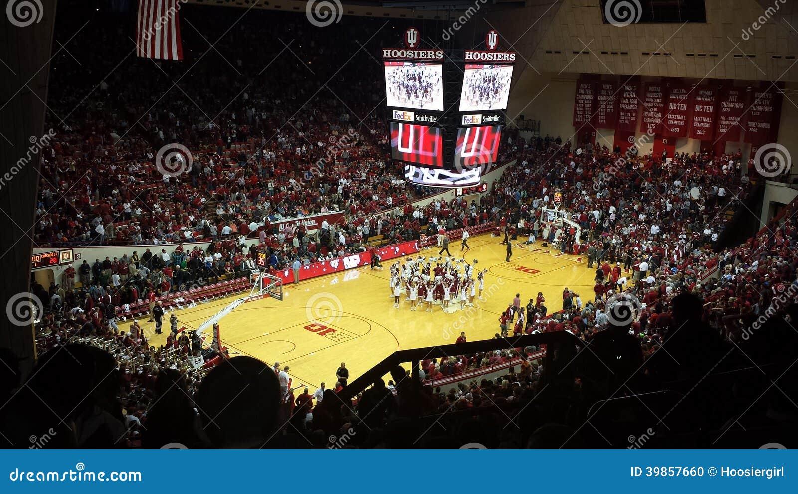 Indianas Universitys enhet Hall Basketball Stadium