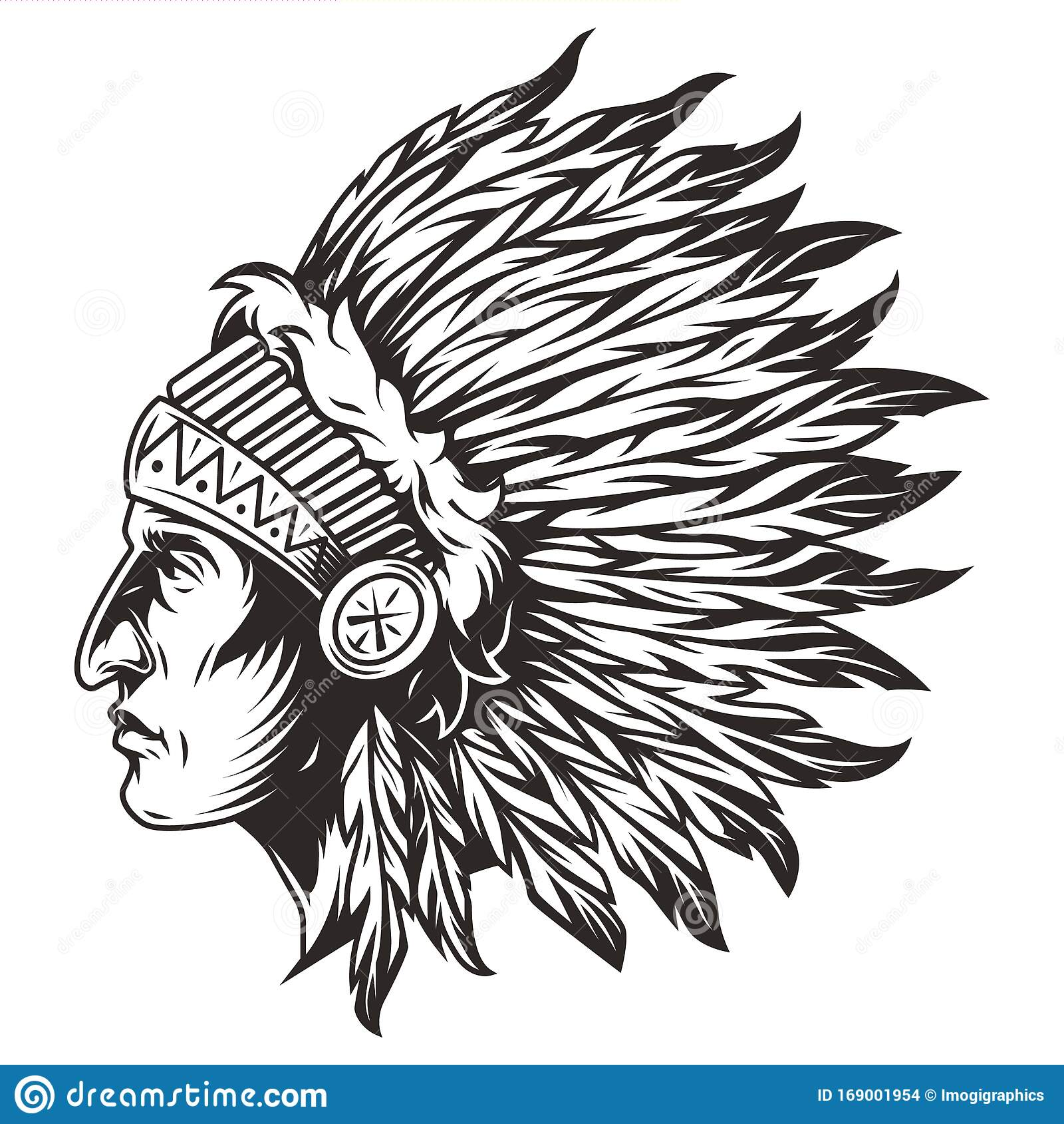 Indianer In Den Usa