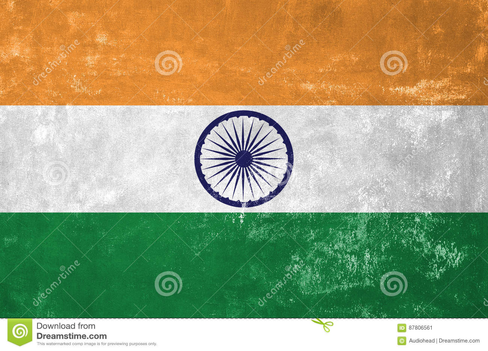 Indianin flaga