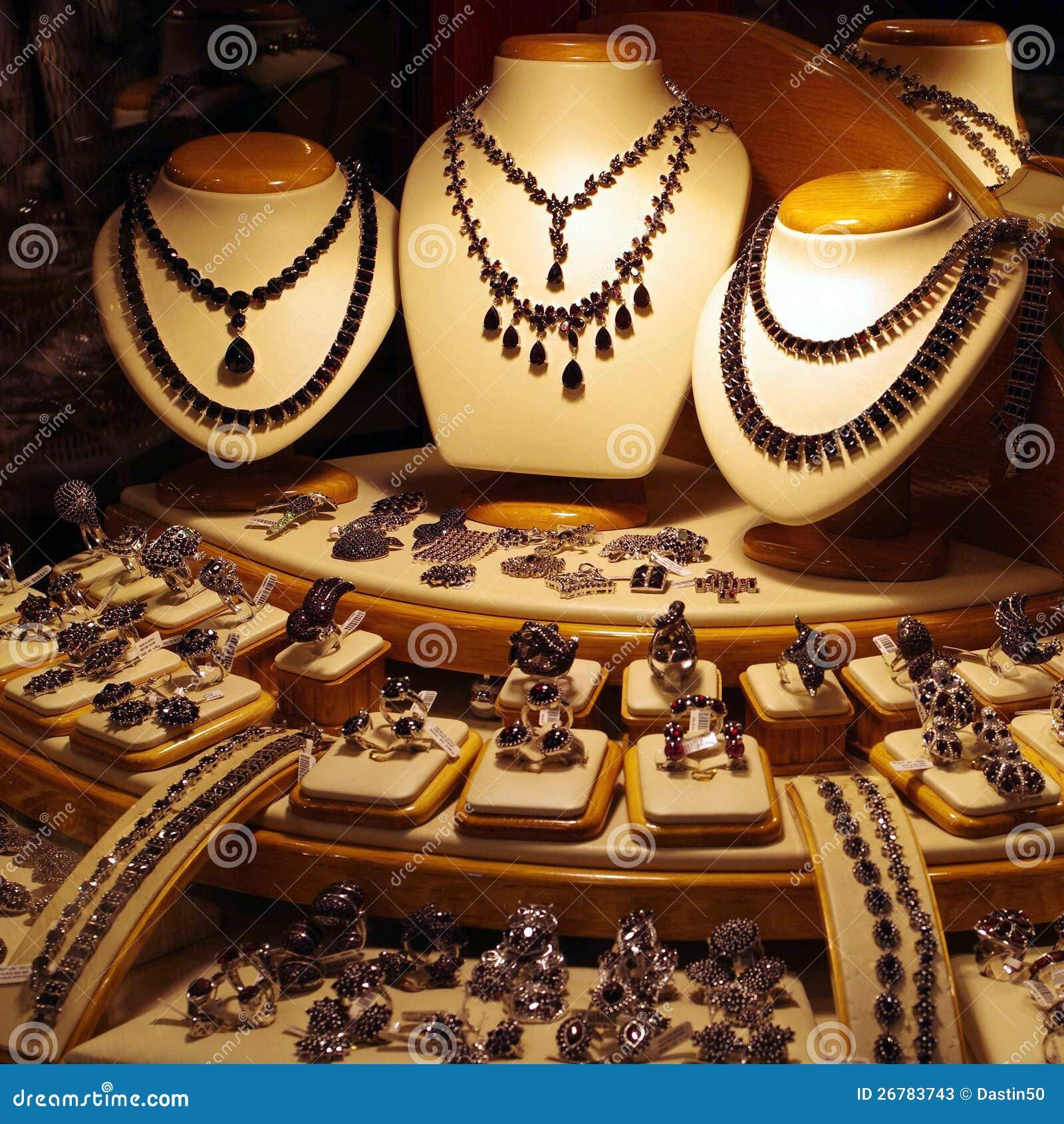 Indicador da loja de jóia