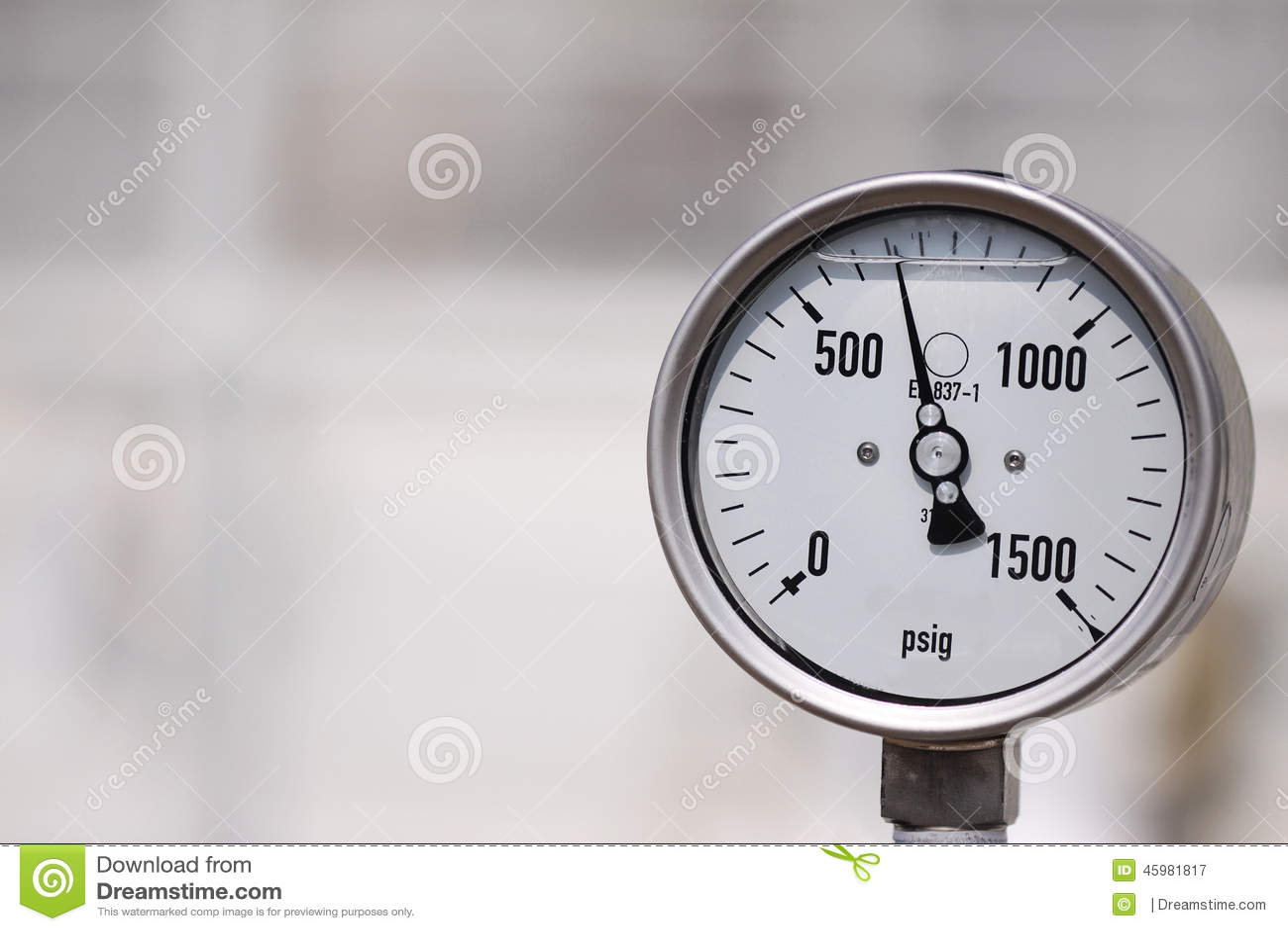 Indicador de alta presión