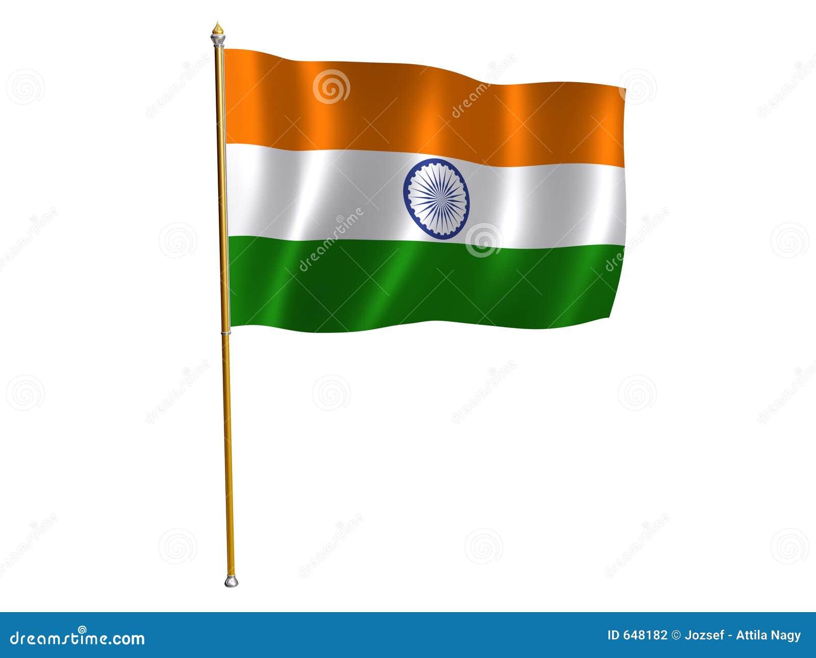 Indicador de la seda de la India