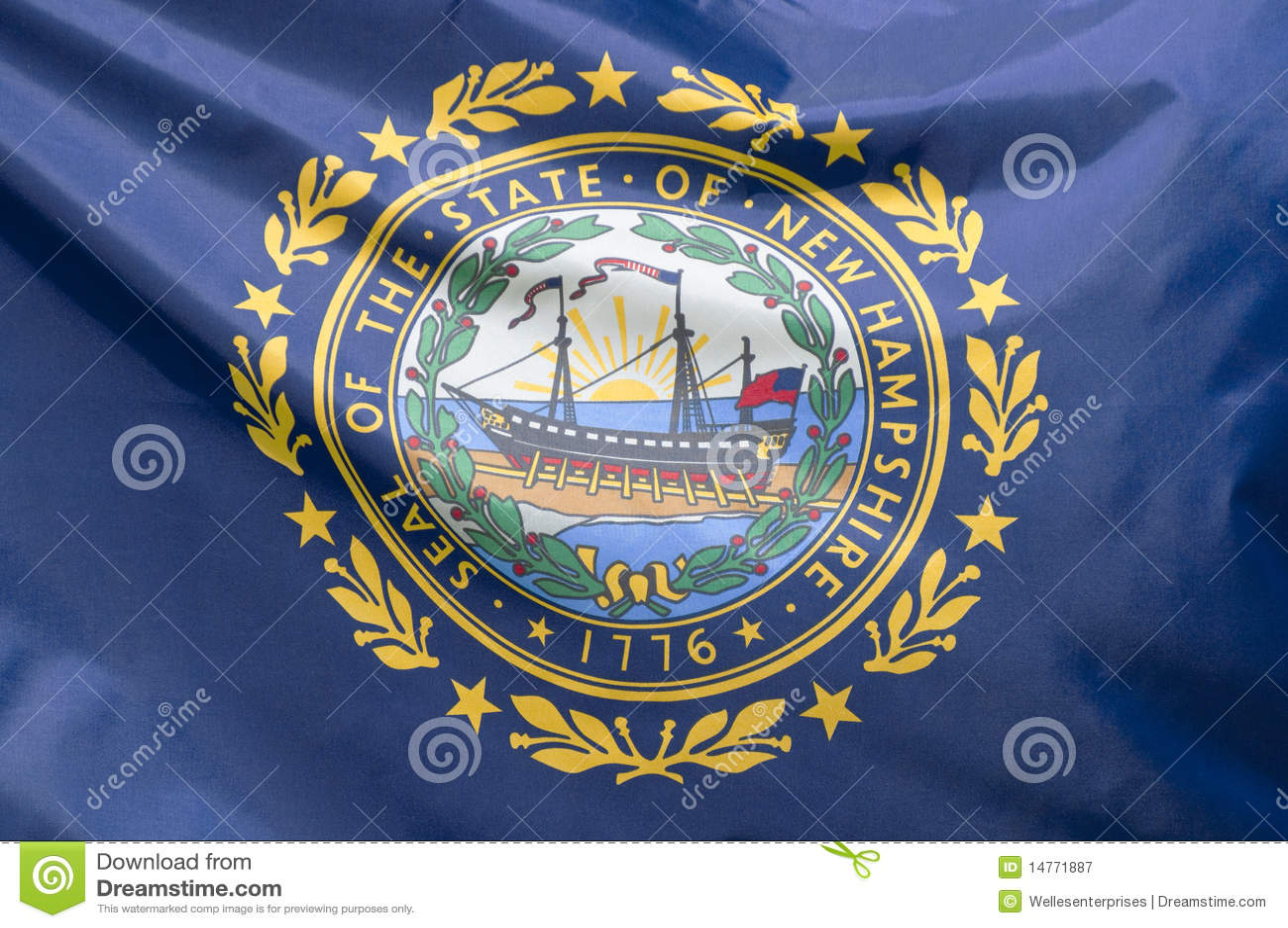 Indicador de New Hampshire del estado