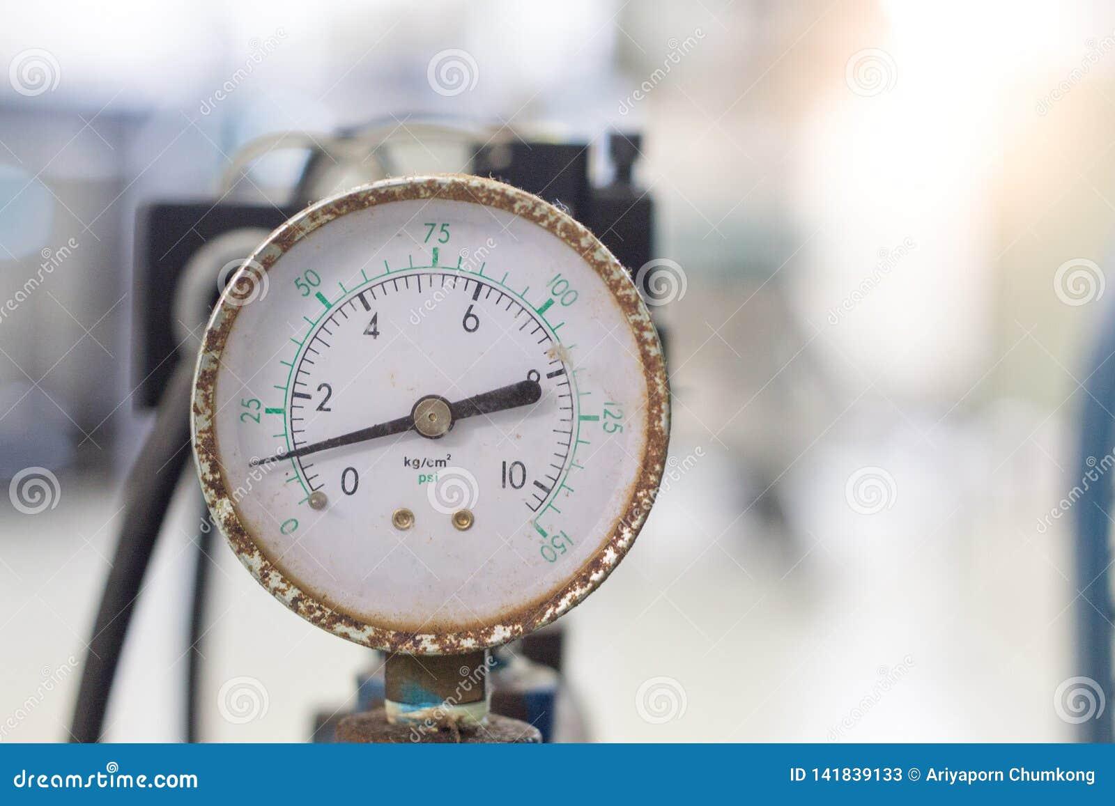Indicador de presión de aire