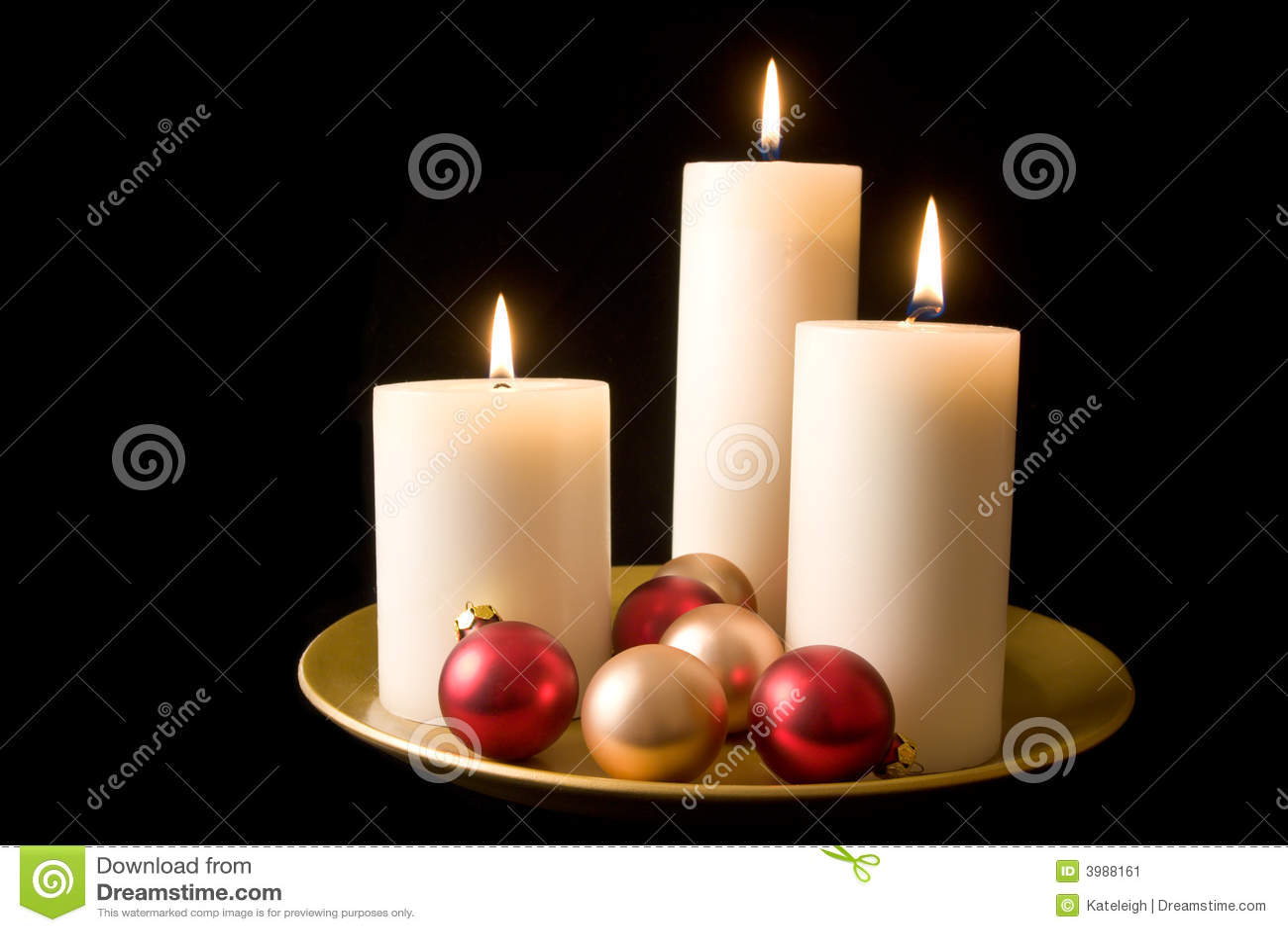 Indicador decorativo da vela