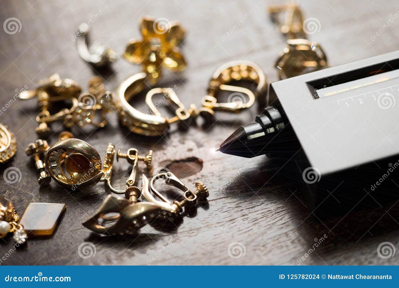 Indicador do diodo emissor de luz de Diamond Tester Gemstone Seletor Gem