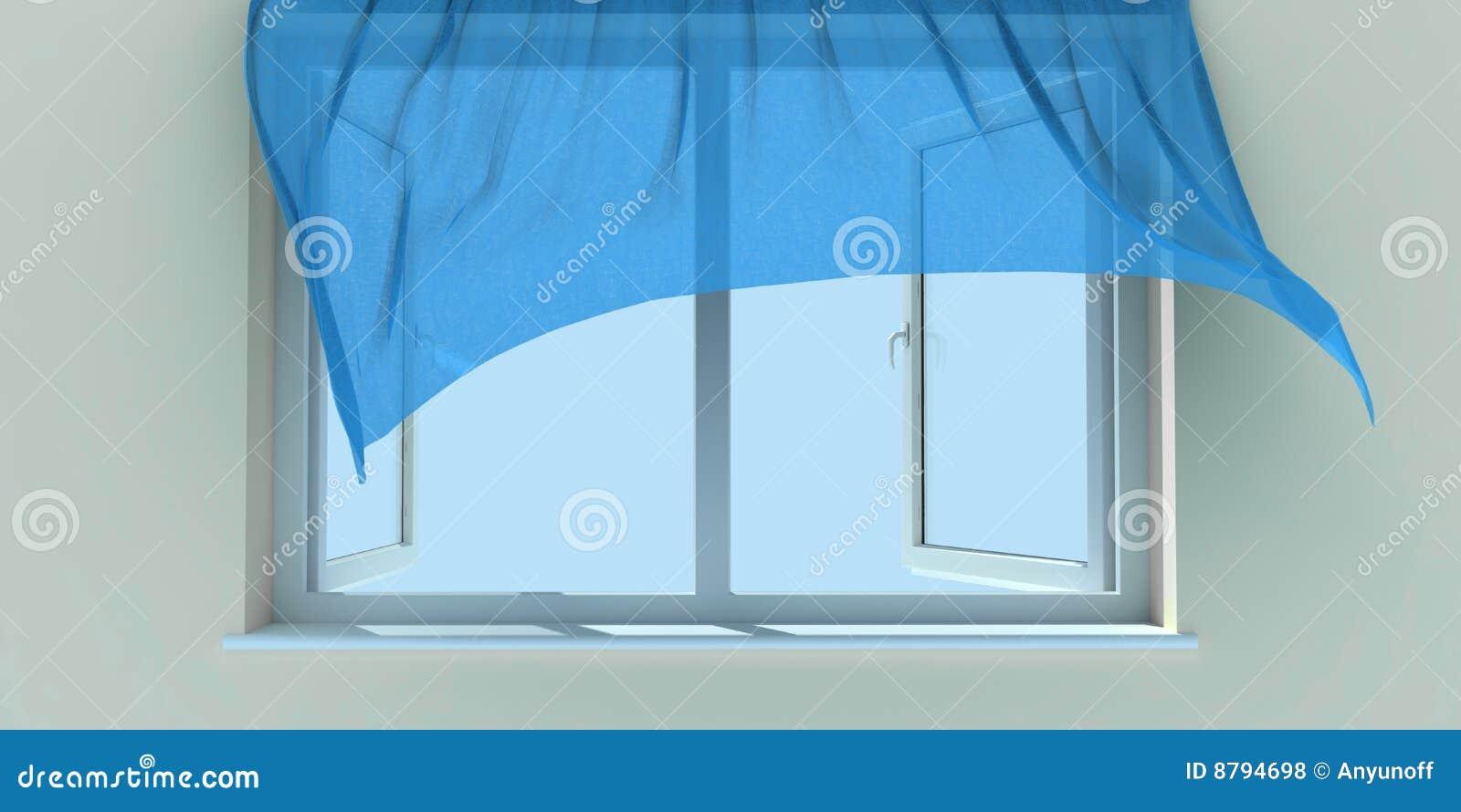 Indicador e cortina