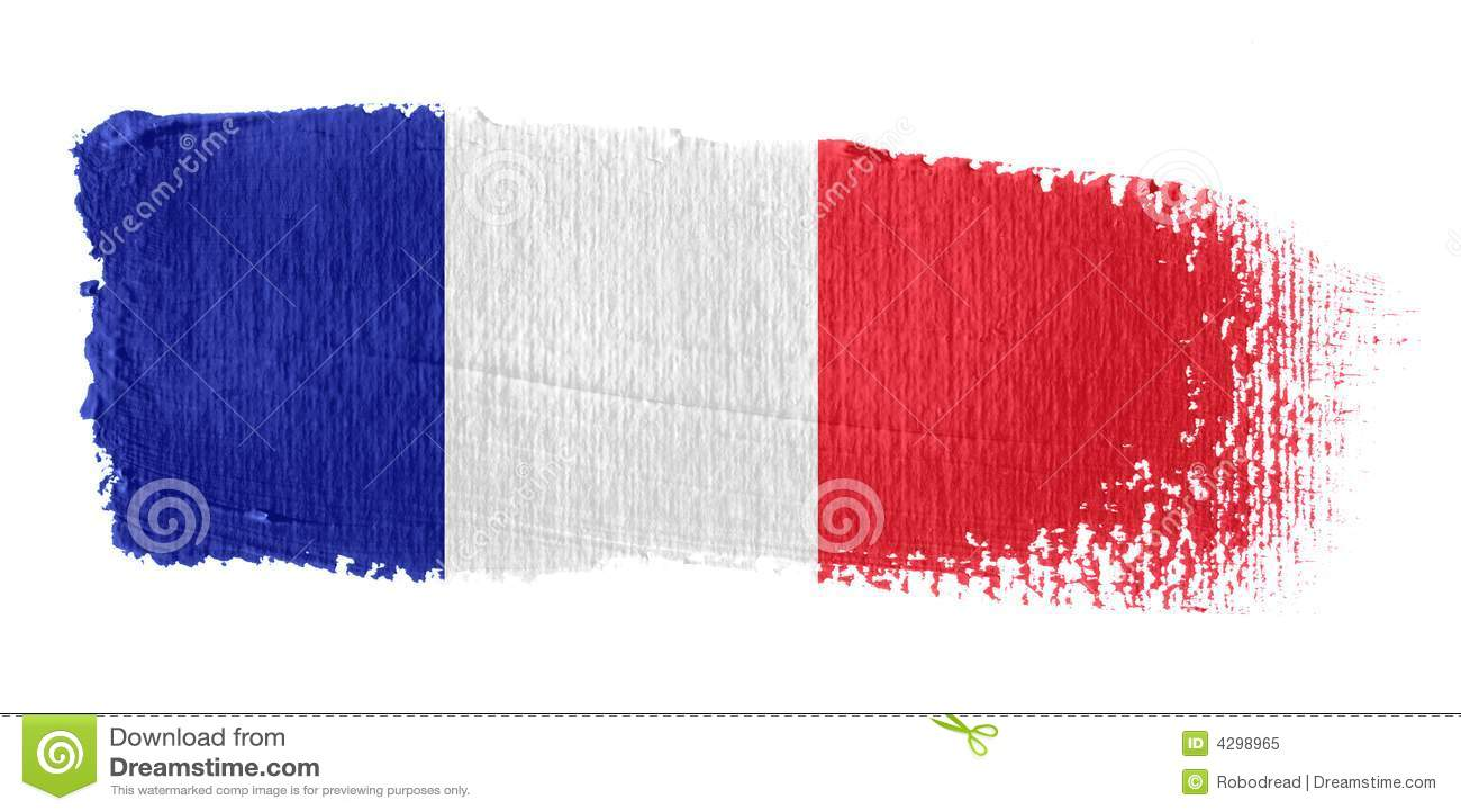 Indicador Francia de la pincelada