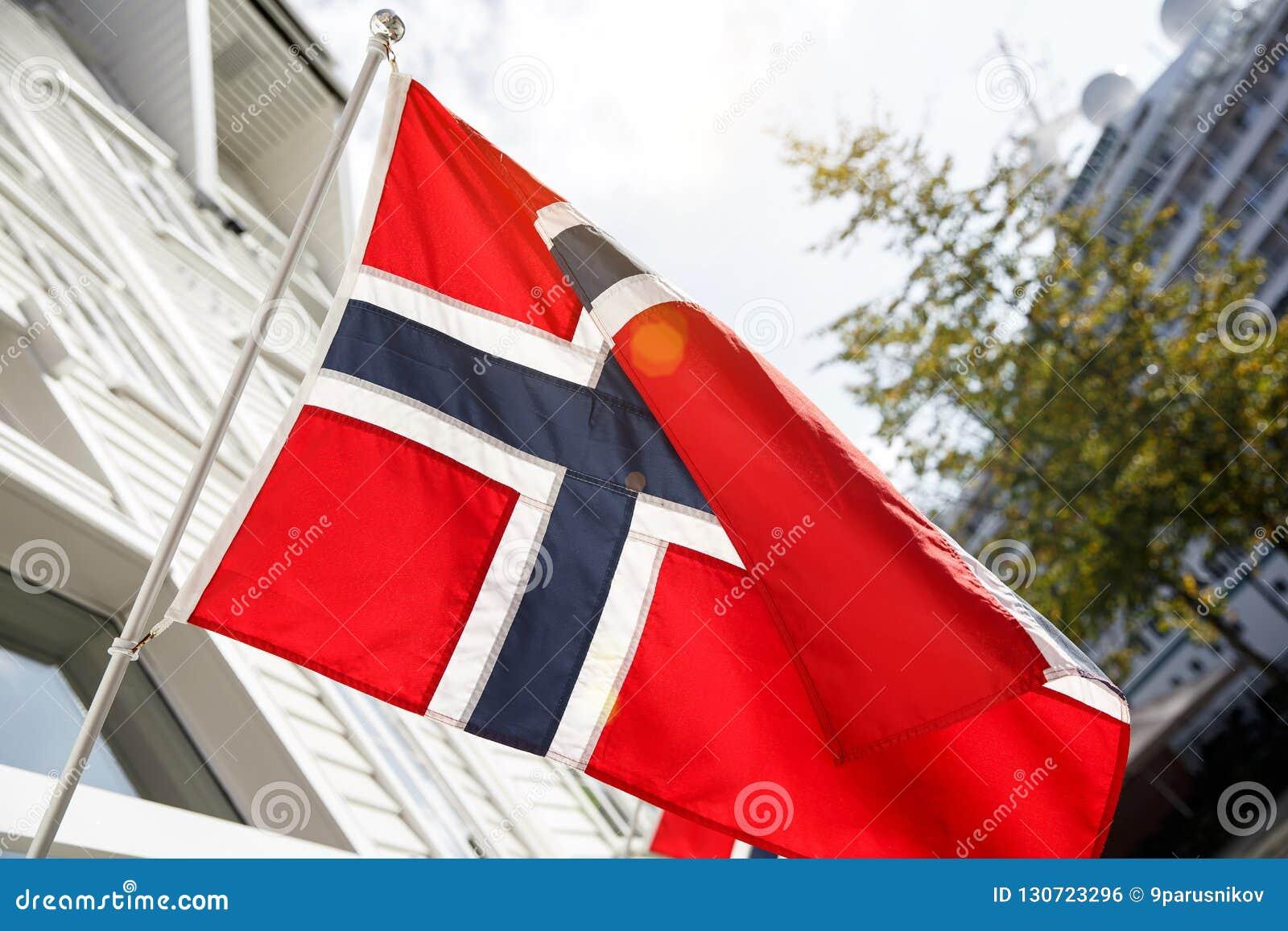 Indicador noruego outdoor Día asoleado