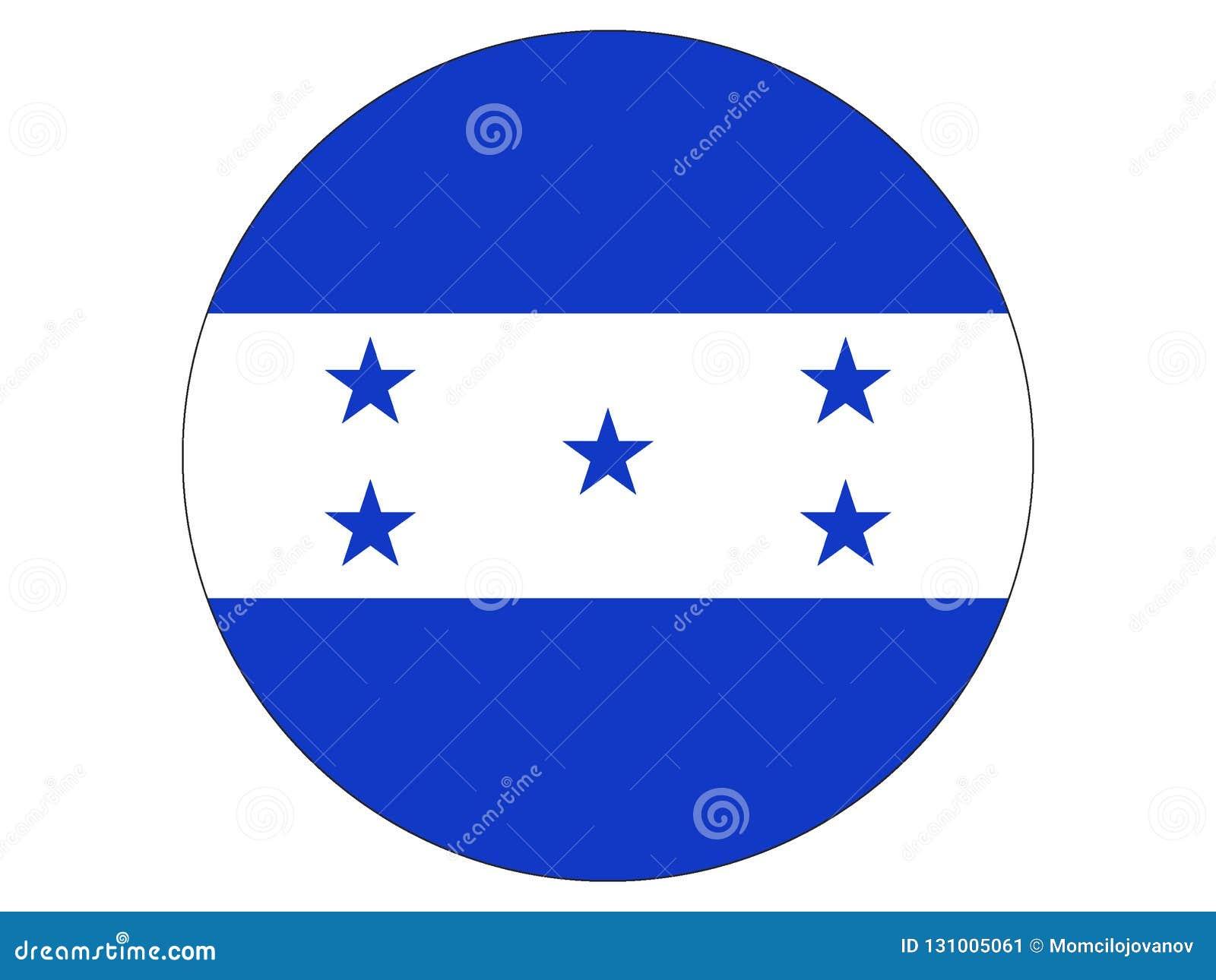 Indicador redondo de Honduras