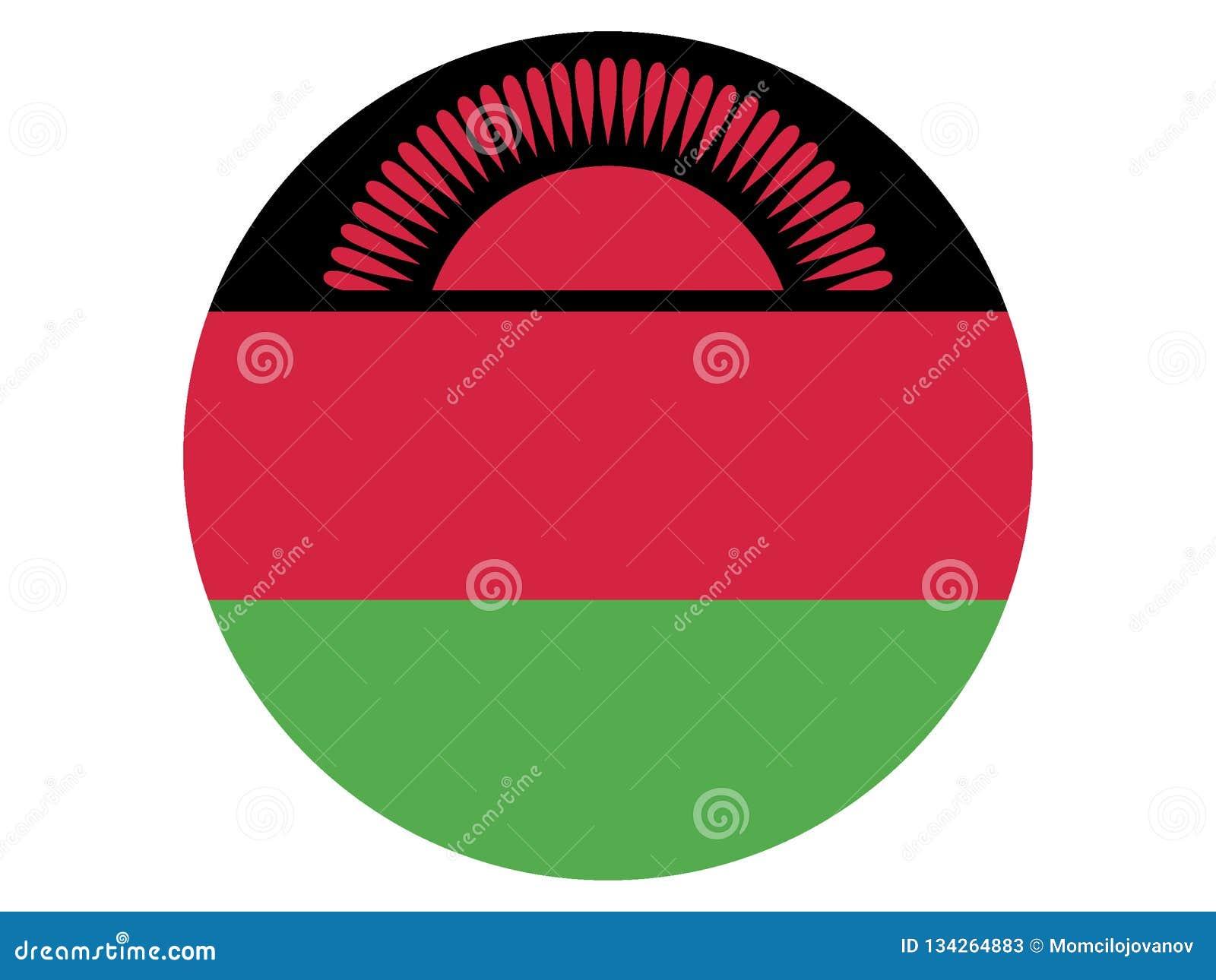 Indicador redondo de Malawi
