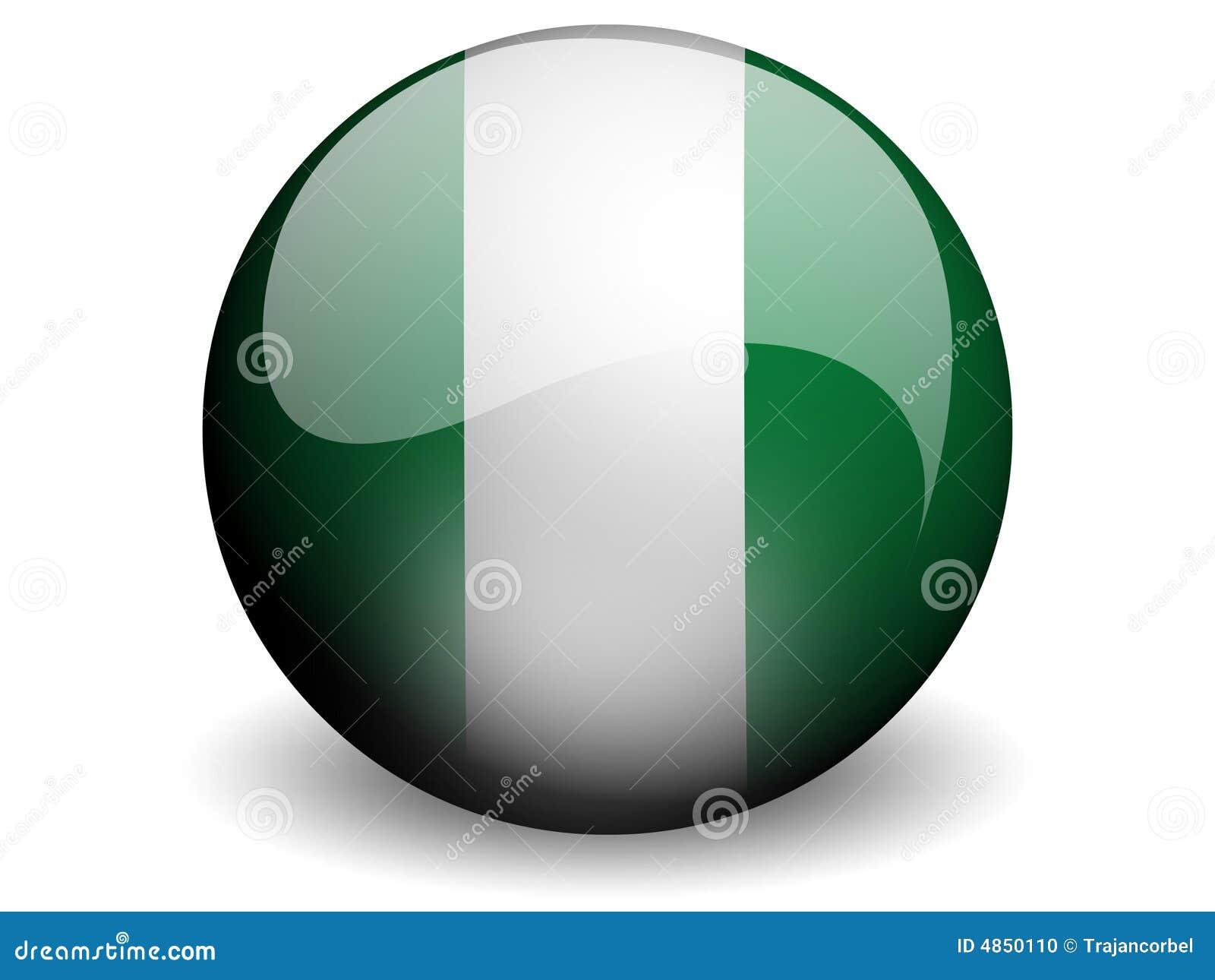 Indicador redondo de Nigeria