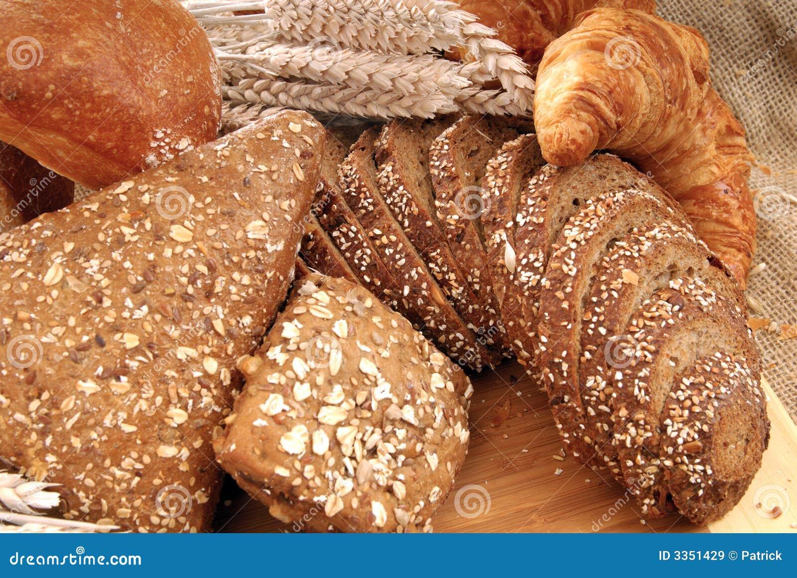 Indicador variado do pão