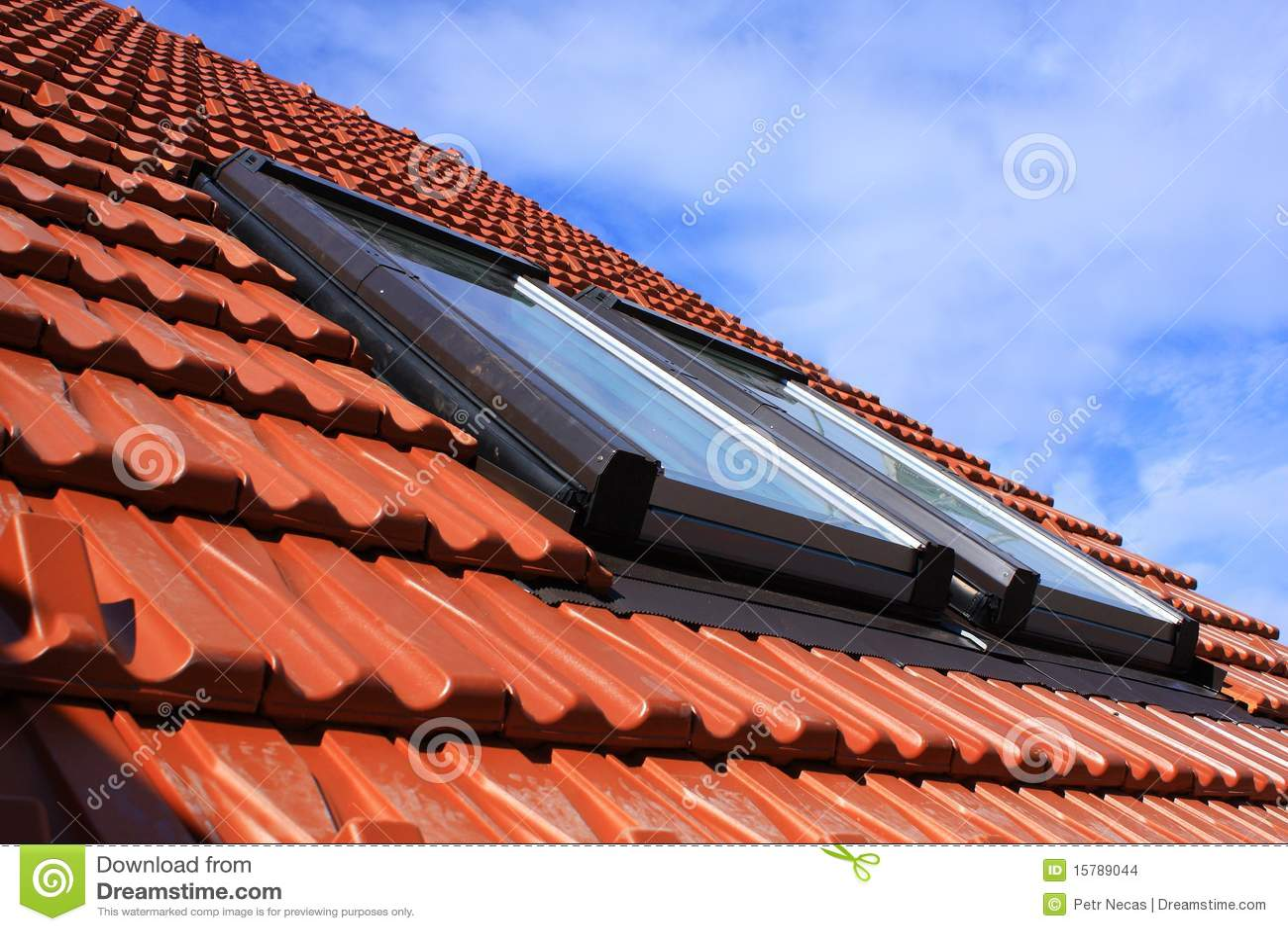 Indicadores do telhado