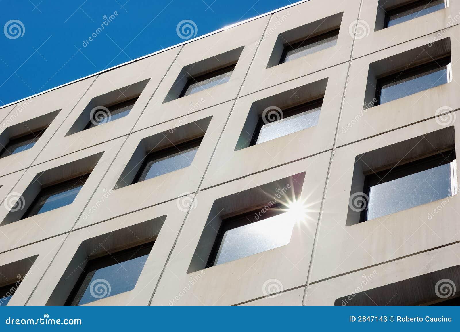 Indicadores modernos do edifício