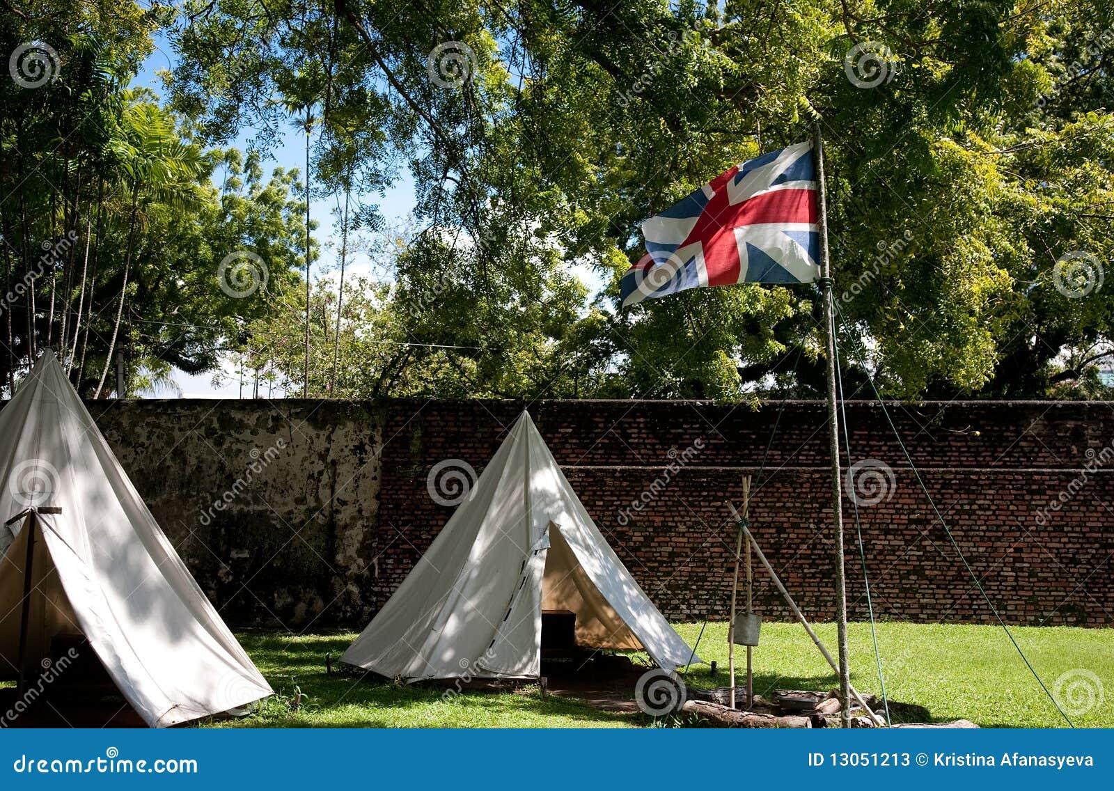 Indicateur britannique sur le fort