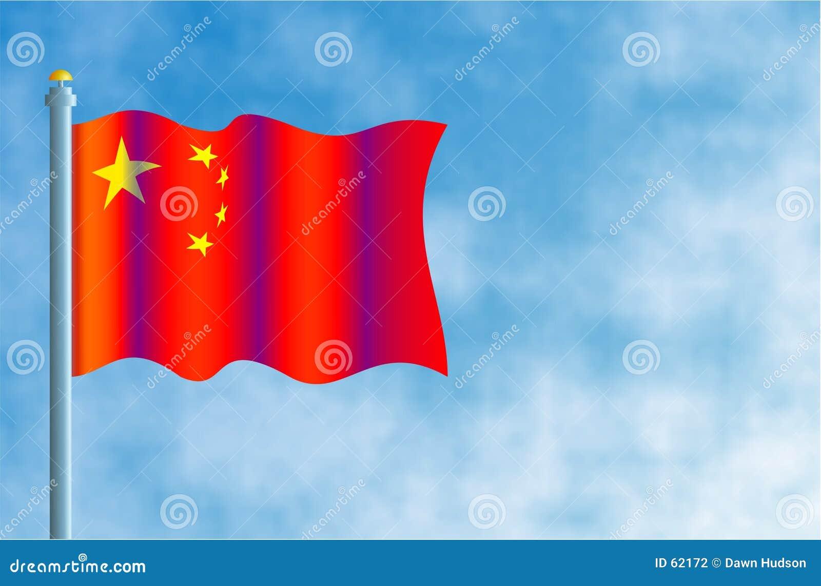 Download Indicateur chinois illustration stock. Illustration du milieux - 62172