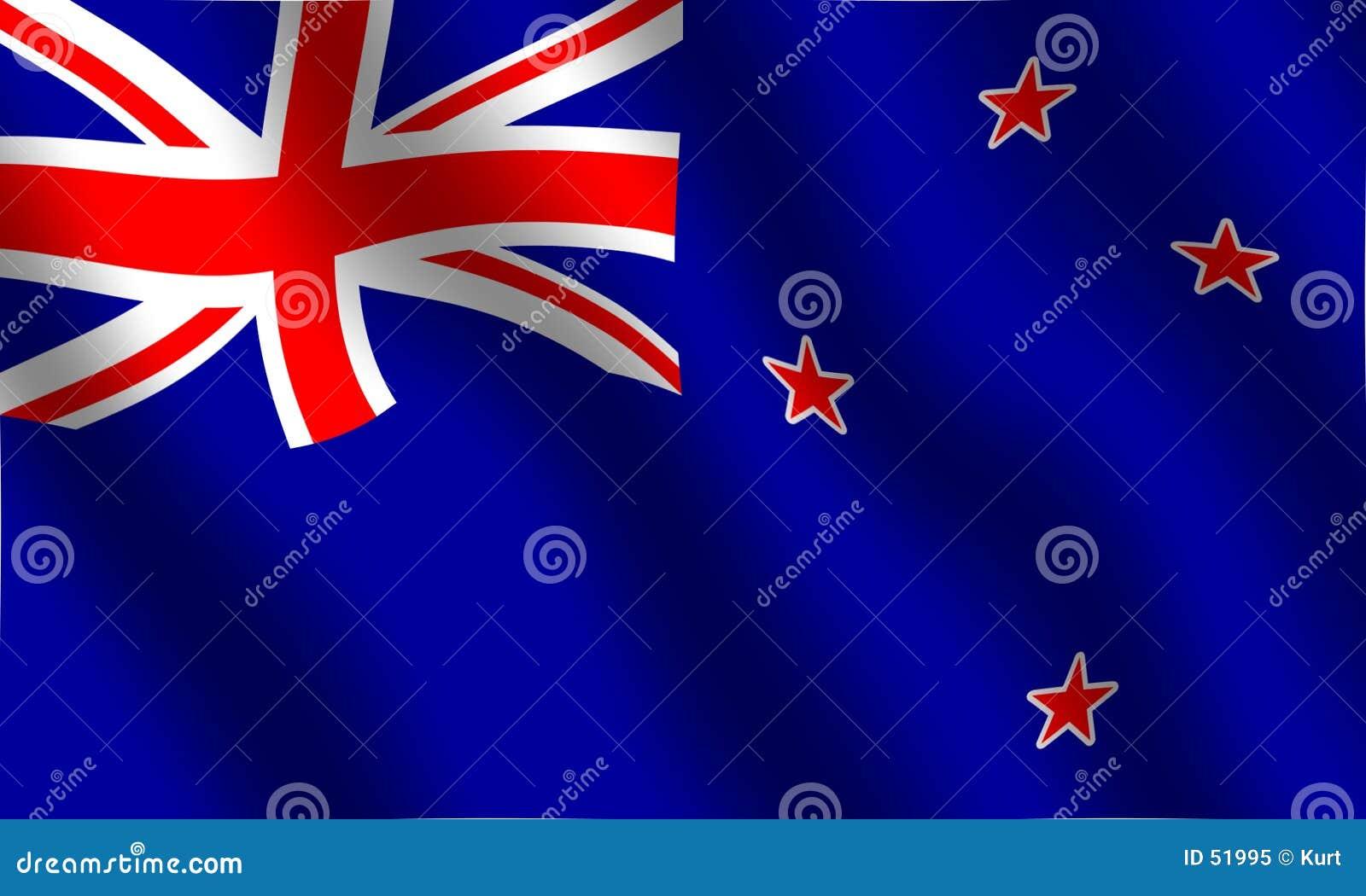 Download Indicateur De La Nouvelle Zélande Illustration Stock - Illustration du national, drapeau: 51995
