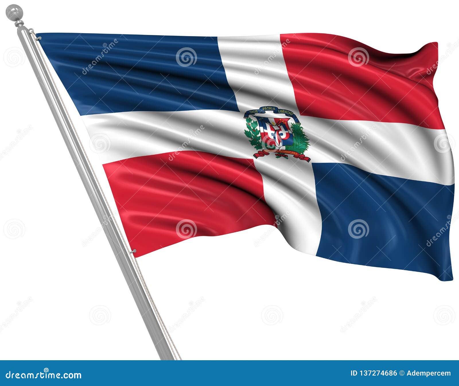 Indicateur de la république dominicaine