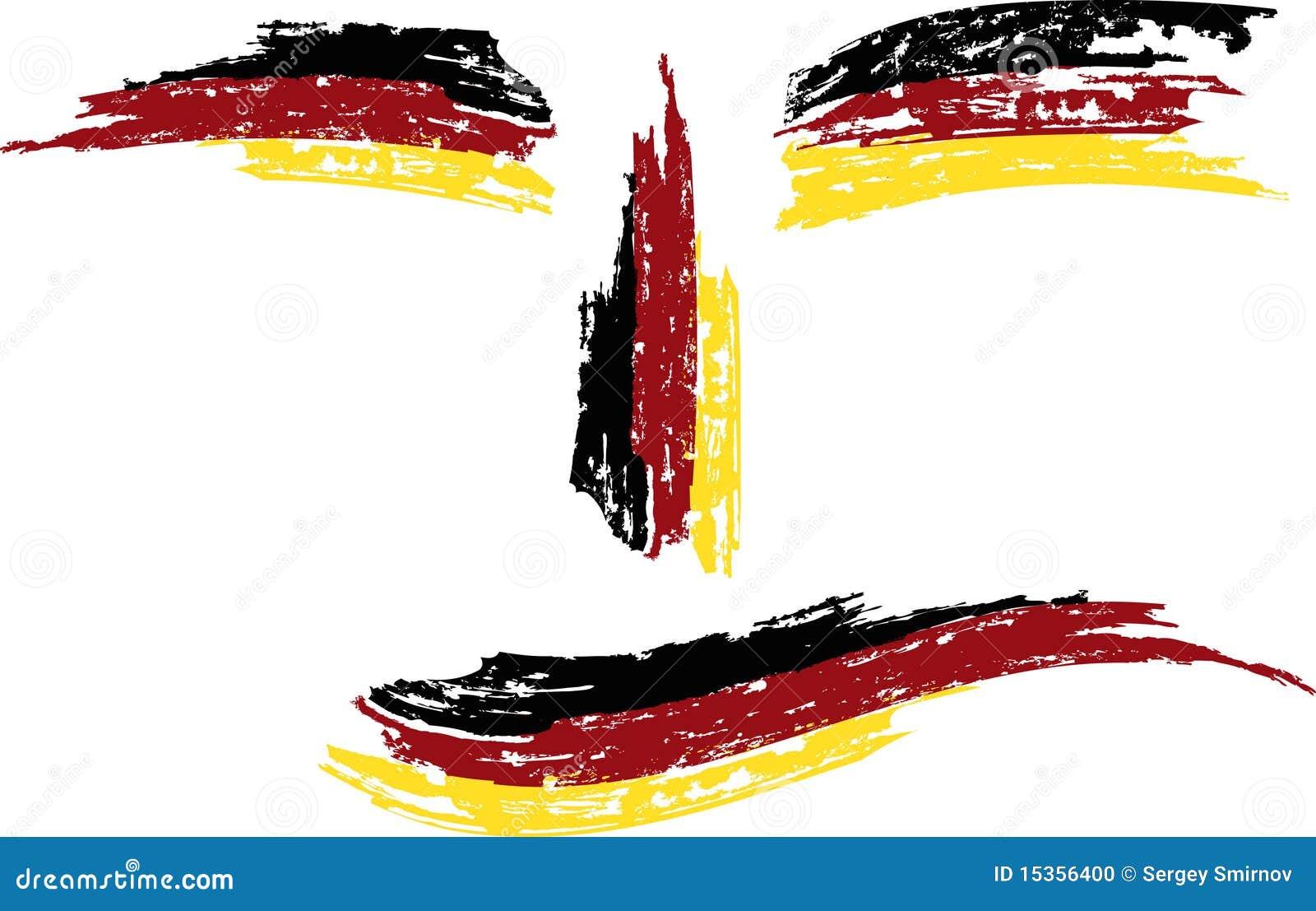 Indicateur grunge de l Allemagne